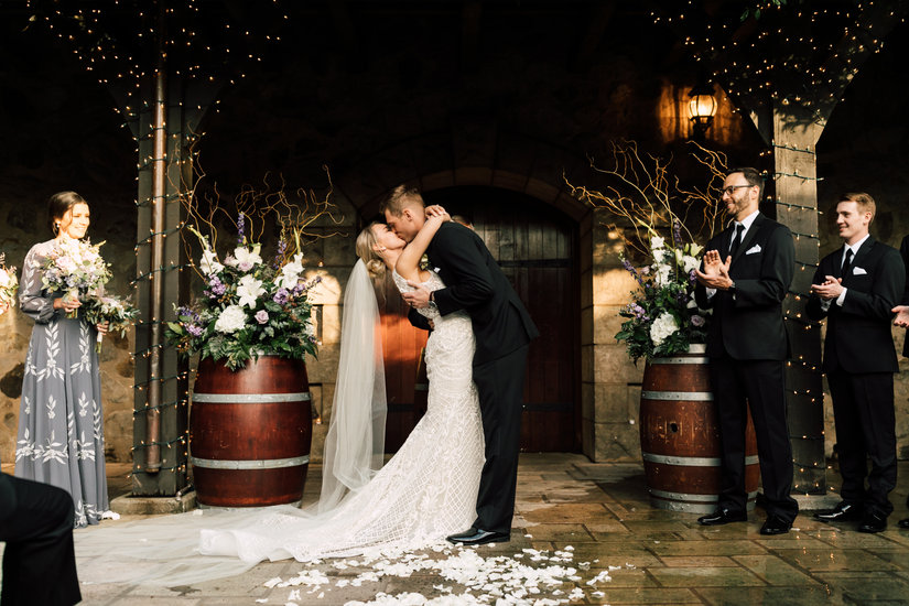 V Sattui Winery Wedding