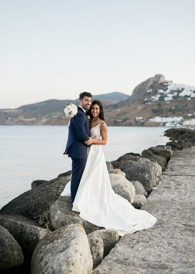 On the rocks in Skyros