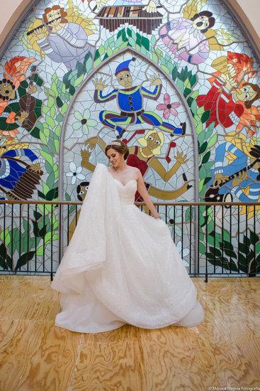 Sin duda el vestido mas hermoso que eh visto