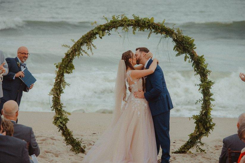 Leah Gown, Beach Wedding