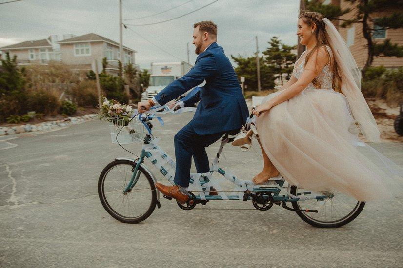 Leah Gown, Beach Wedding,