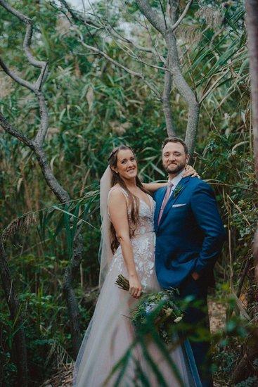 Leah Gown, Beach Wedding, New Jersey Weddings