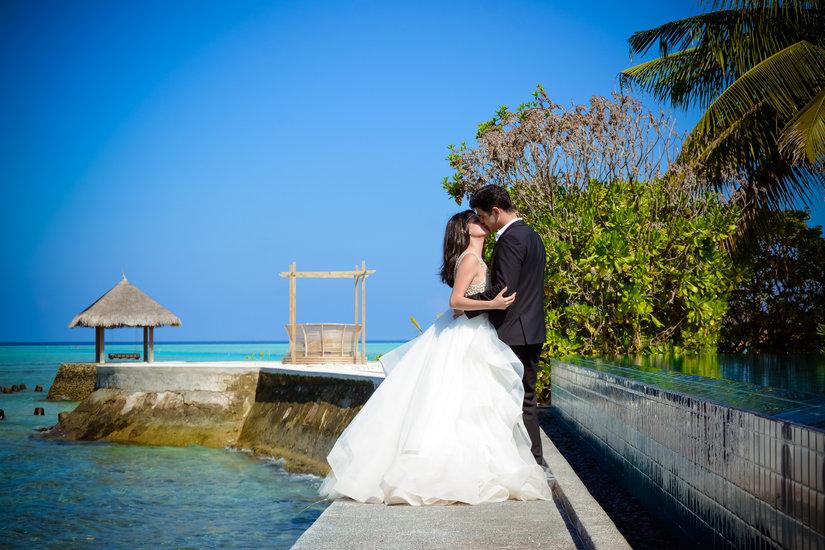 Honeymoon Photoshoot in Maldives