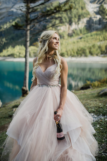 Chandon gown, Moet and Chandon, Rose'