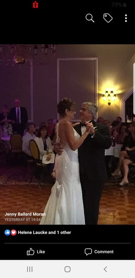 Our first dance as husband and wife.