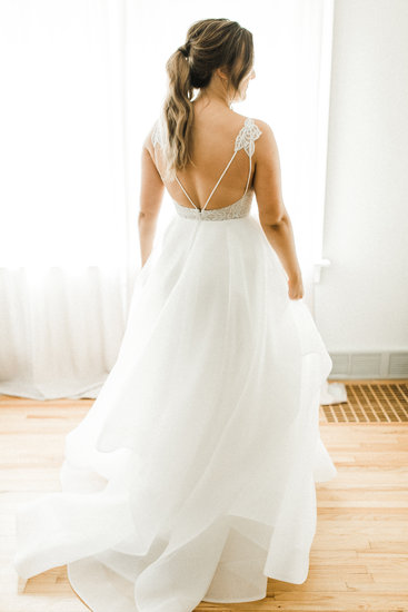 Hayley Paige Perri Gown - The Cottage Farmhouse, Glencoe MN