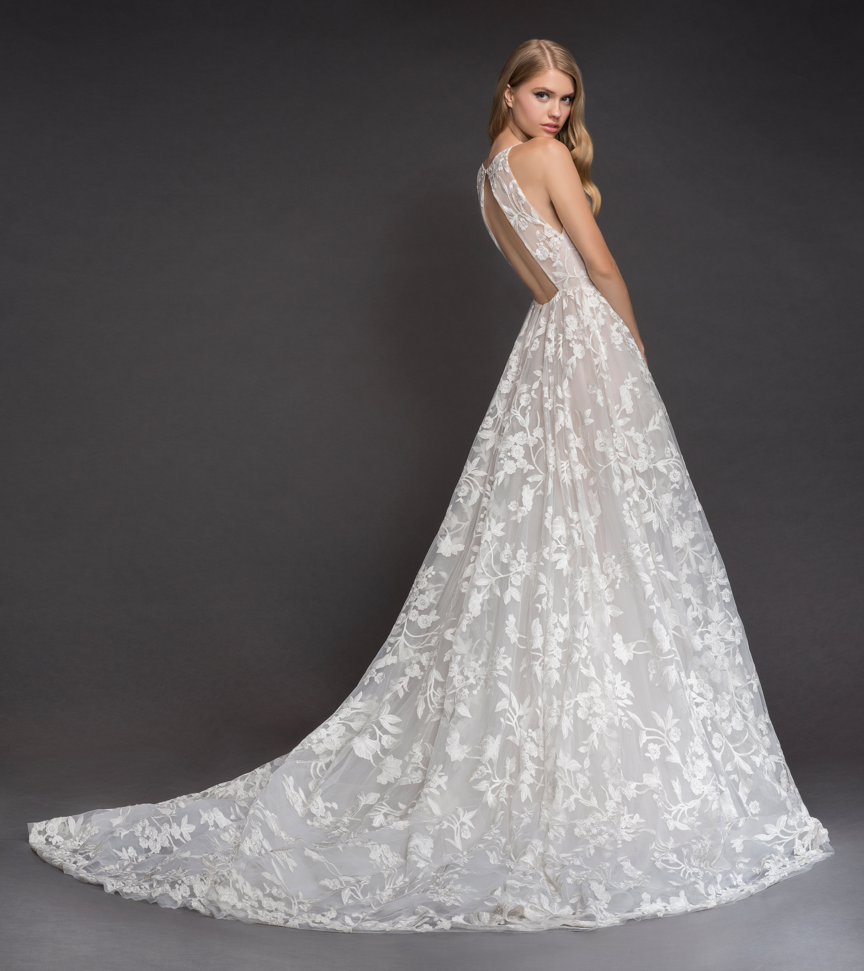 Bridal gowns and wedding dresses by jlm couture style 1817 fleur blush by hayley paige style 1817 fleur de lis bridal gown junglespirit Image collections