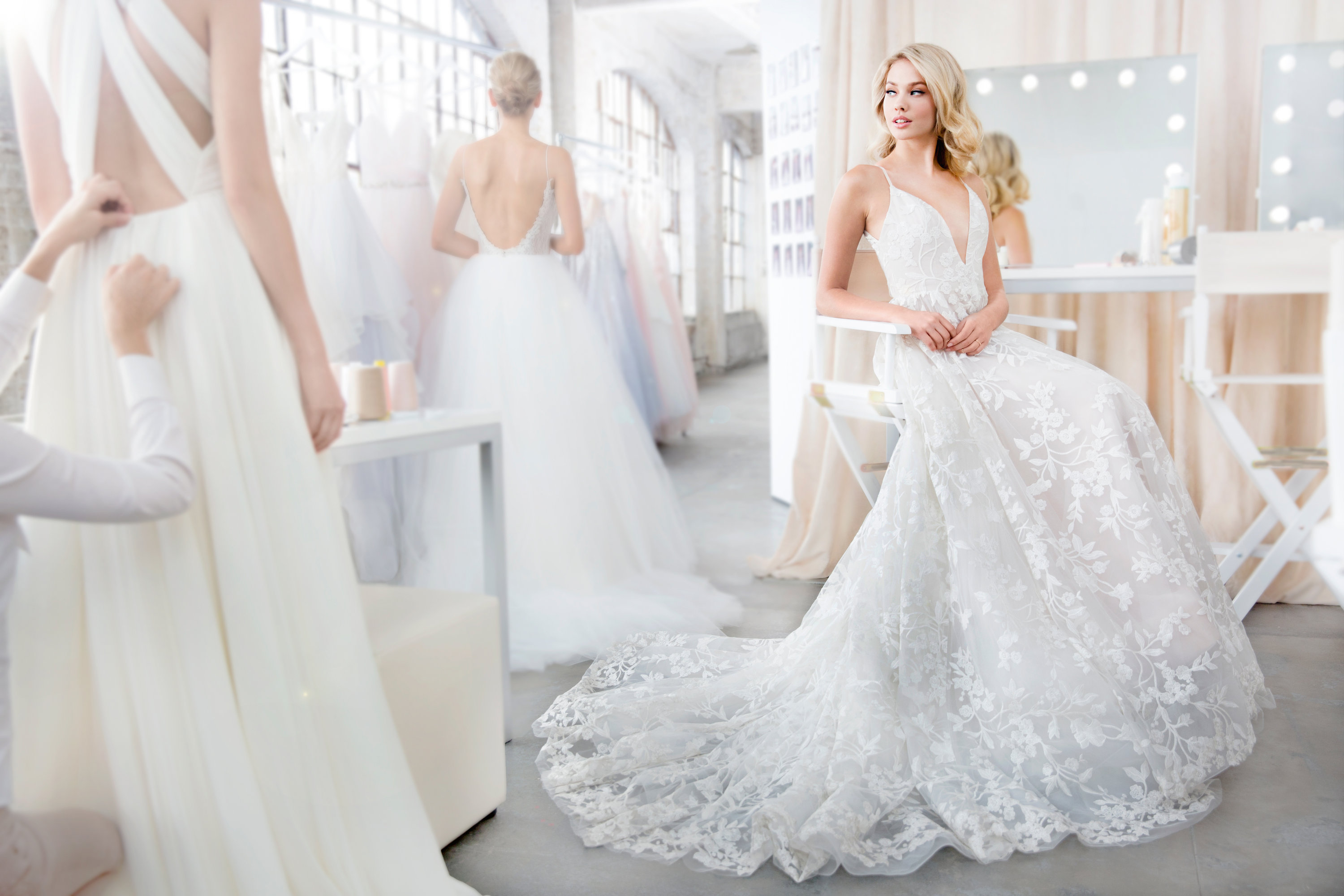 Bridal Gowns and Wedding Dresses by JLM Couture - Style 1817 Fleur ...