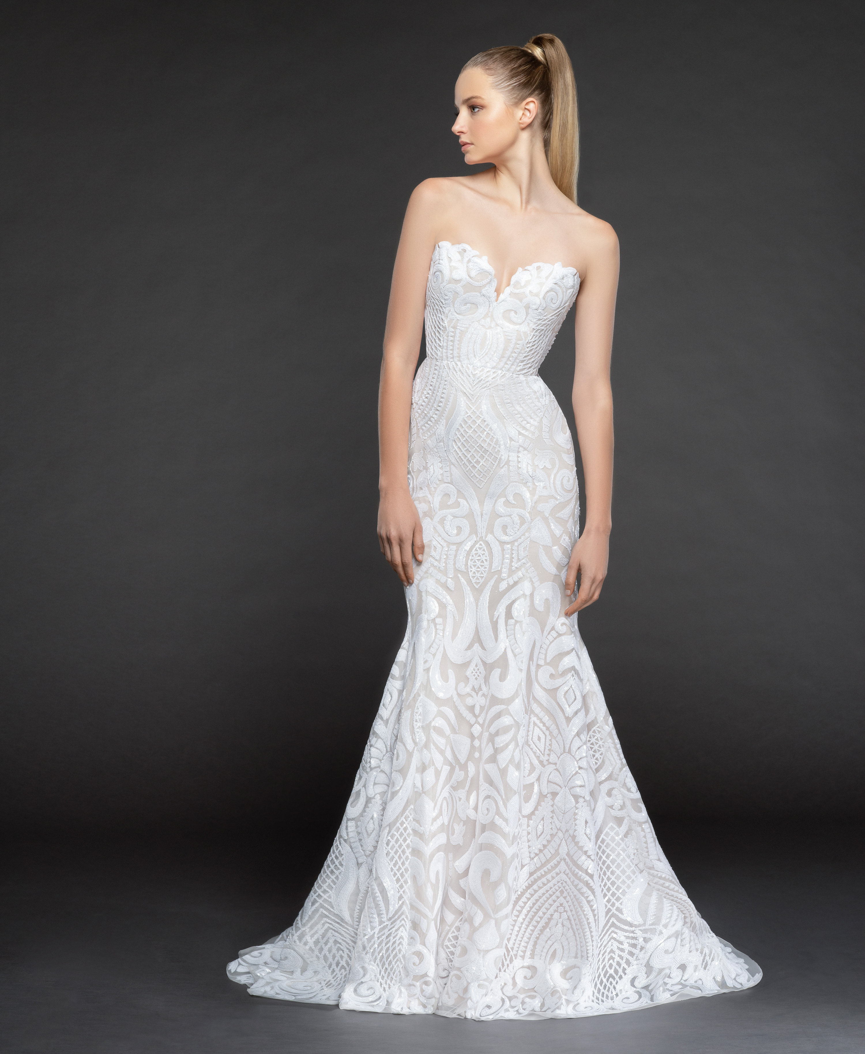 Bridal Gowns and Wedding Dresses by JLM Couture - Style 1858 Safyr