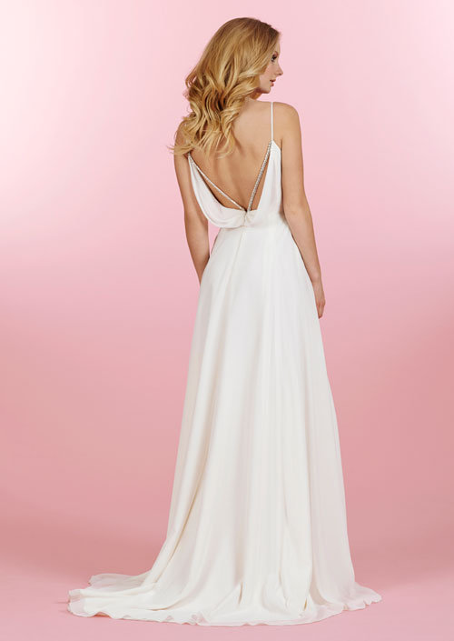 Blush Low Back Wedding Dress : Bridal gowns and wedding dresses by jlm couture style
