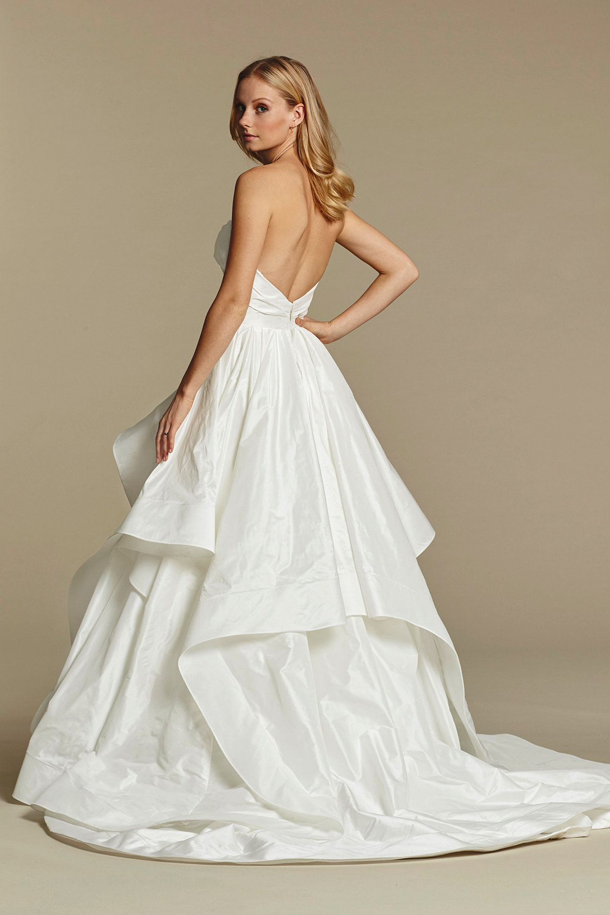 Hayley Paige Strapless Wedding Dresses