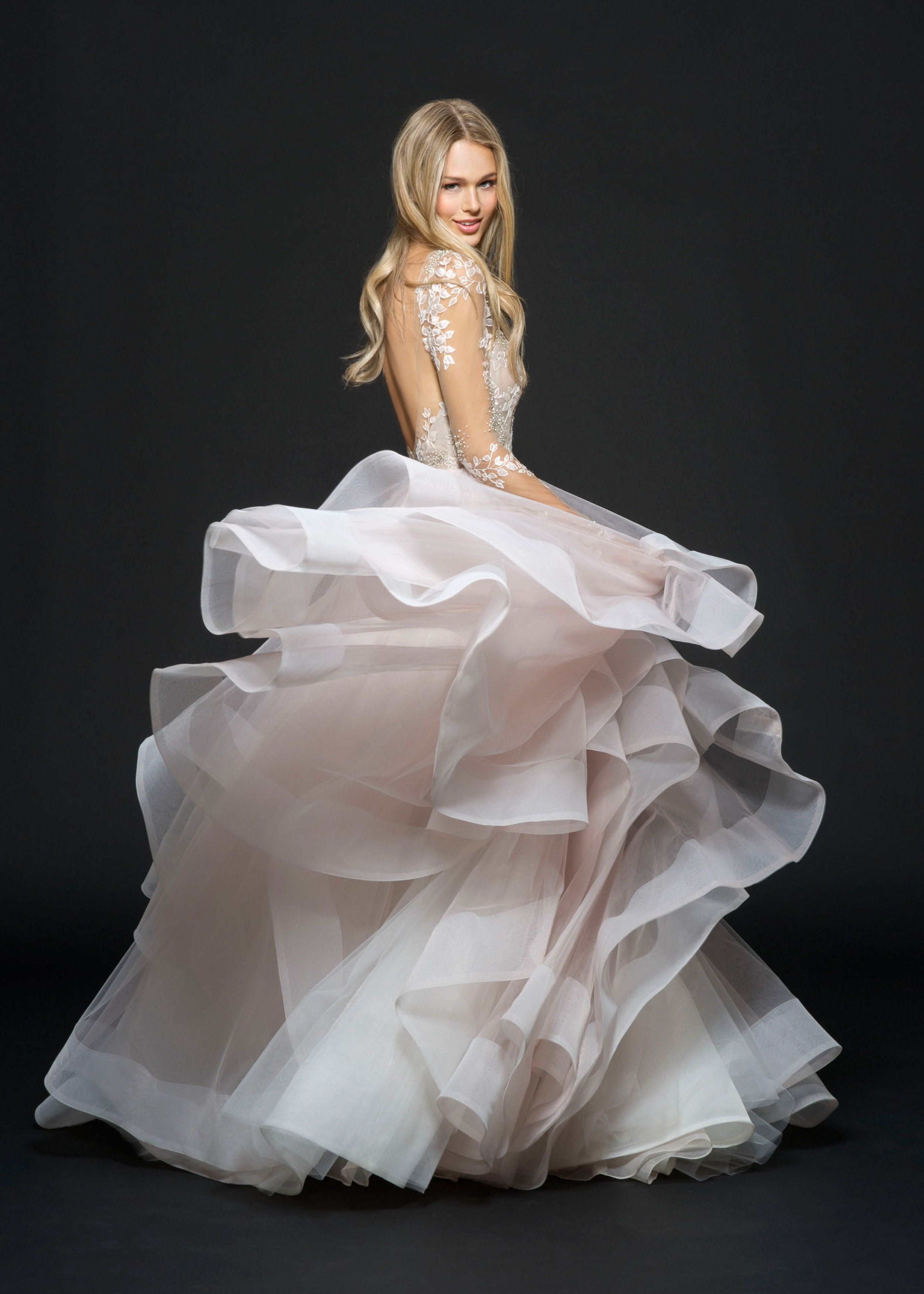 Bridal Gowns and Wedding Dresses by JLM Couture - Style 6654 Lorelei