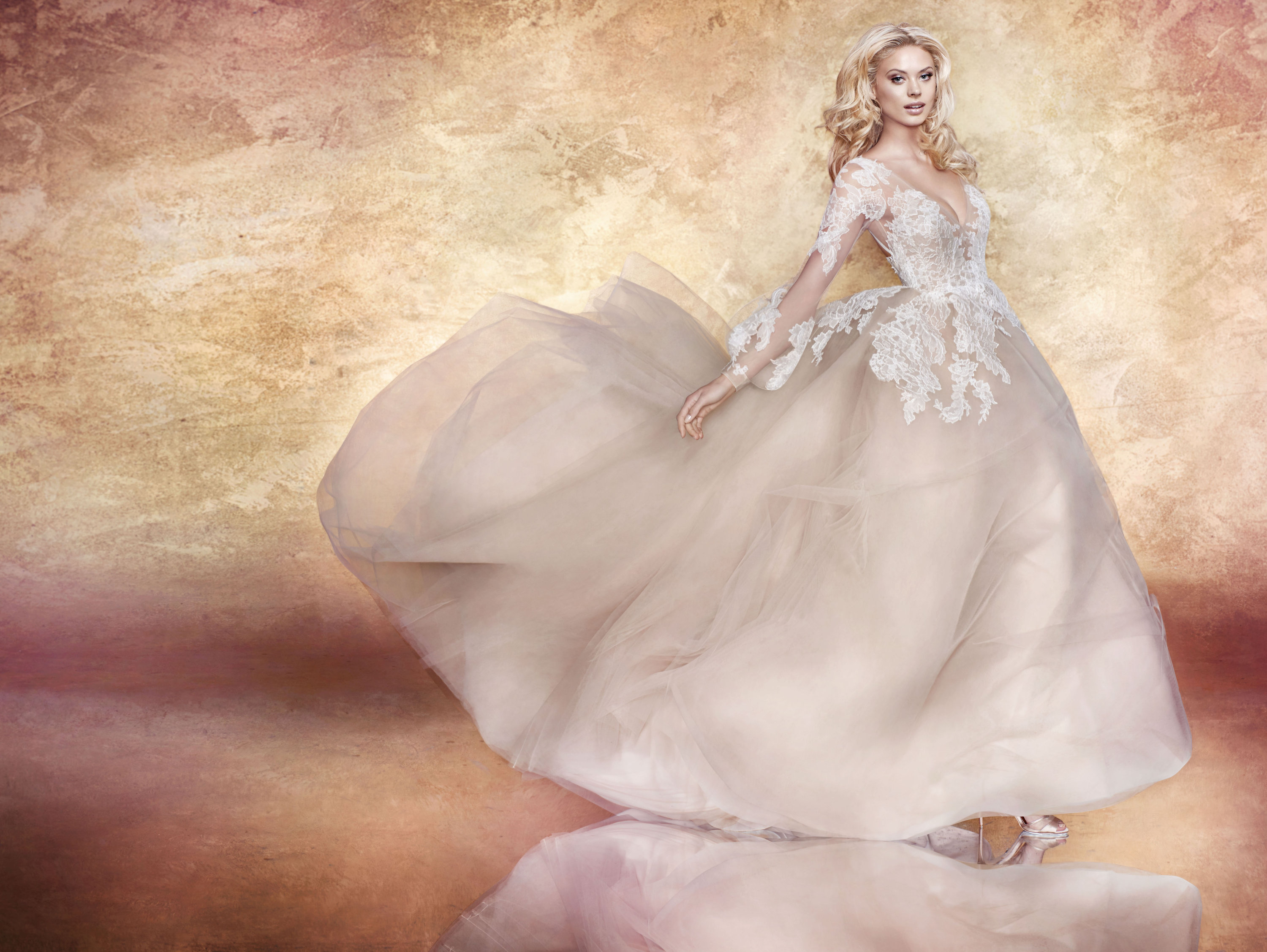 Bridal Gowns and Wedding Dresses by JLM Couture - Style 6707 Winnie