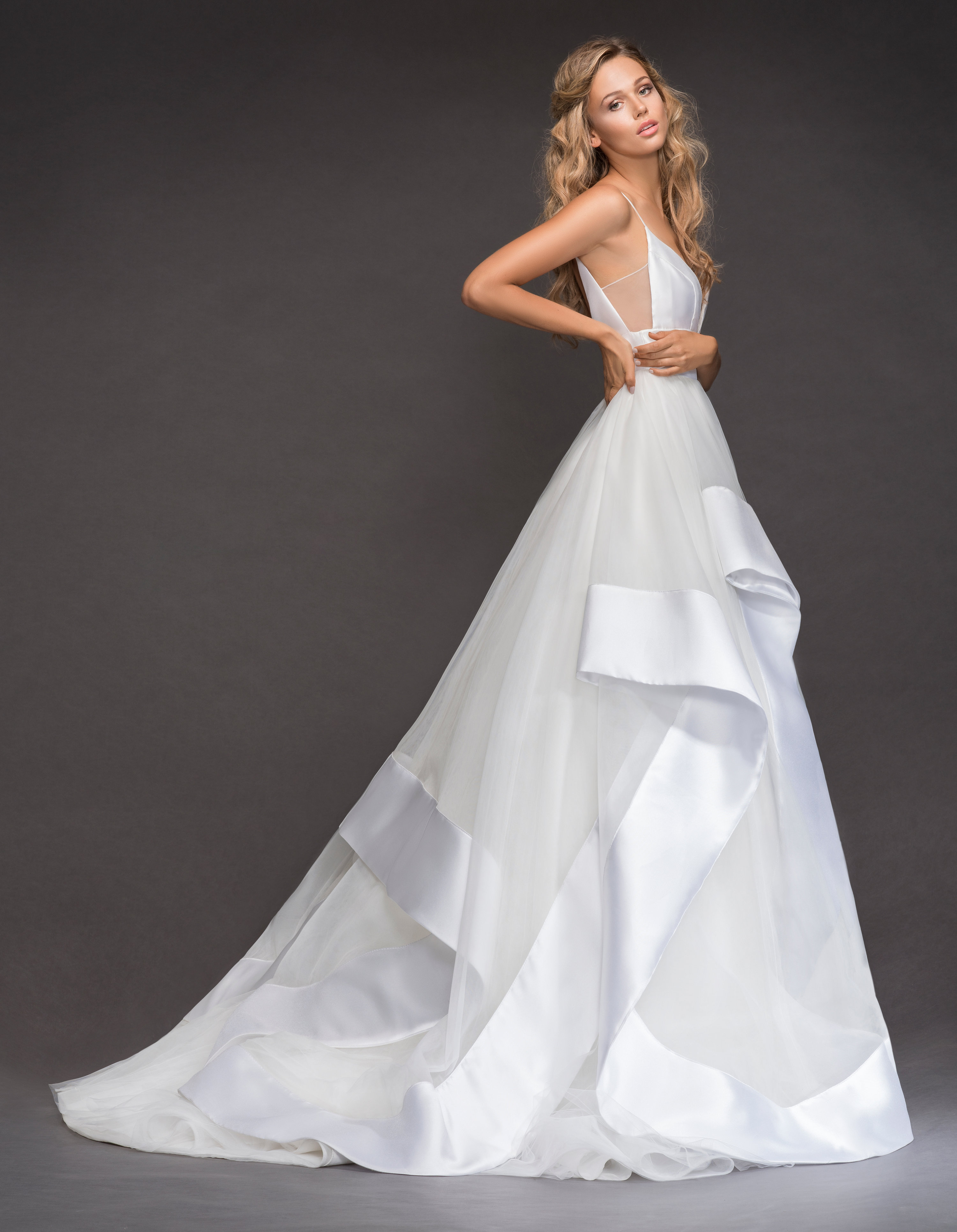 Bridal Gowns and Wedding Dresses by JLM Couture - Style 6800 Andi