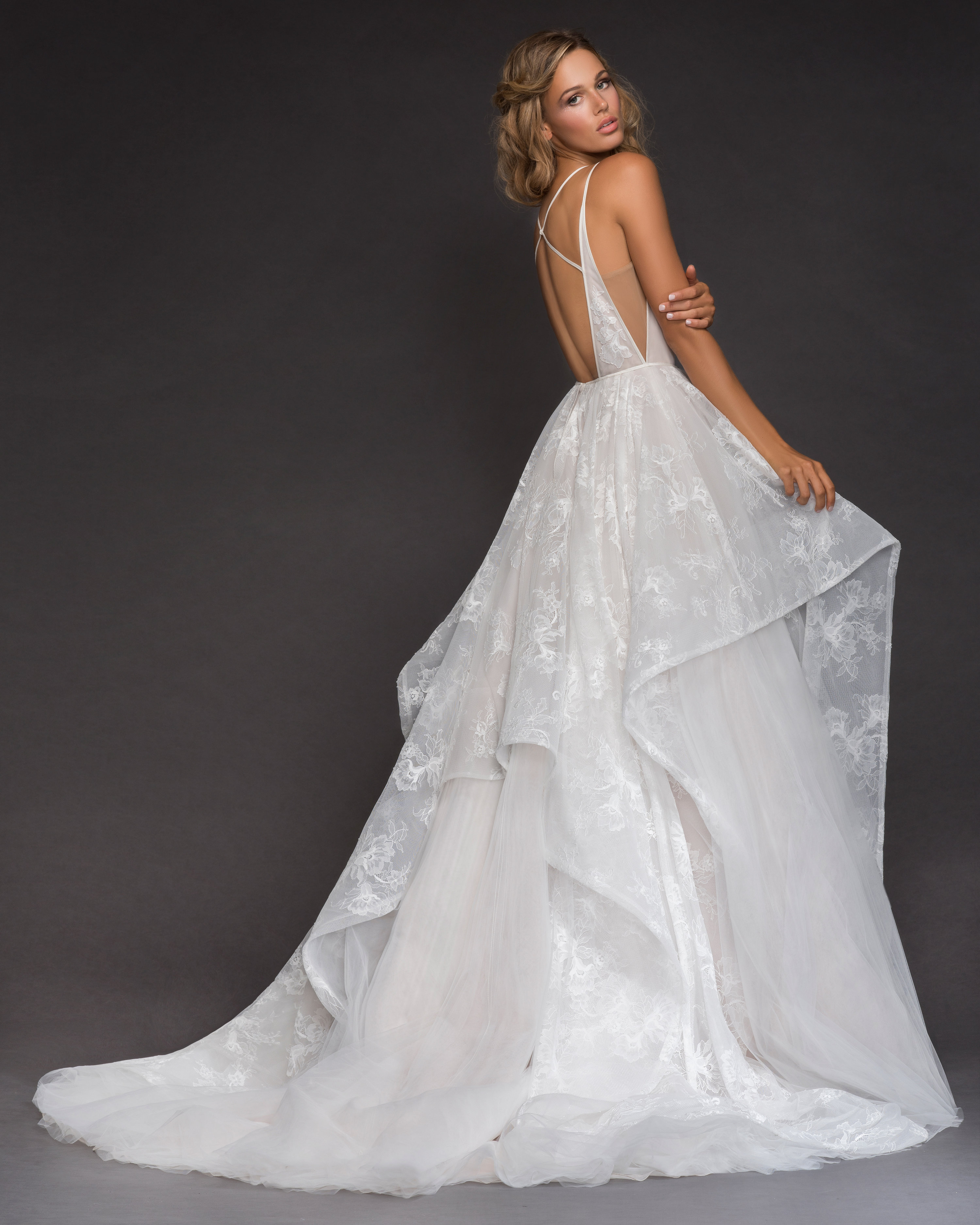 Bridal Gowns and Wedding Dresses by JLM Couture - Style 6811 Kellan
