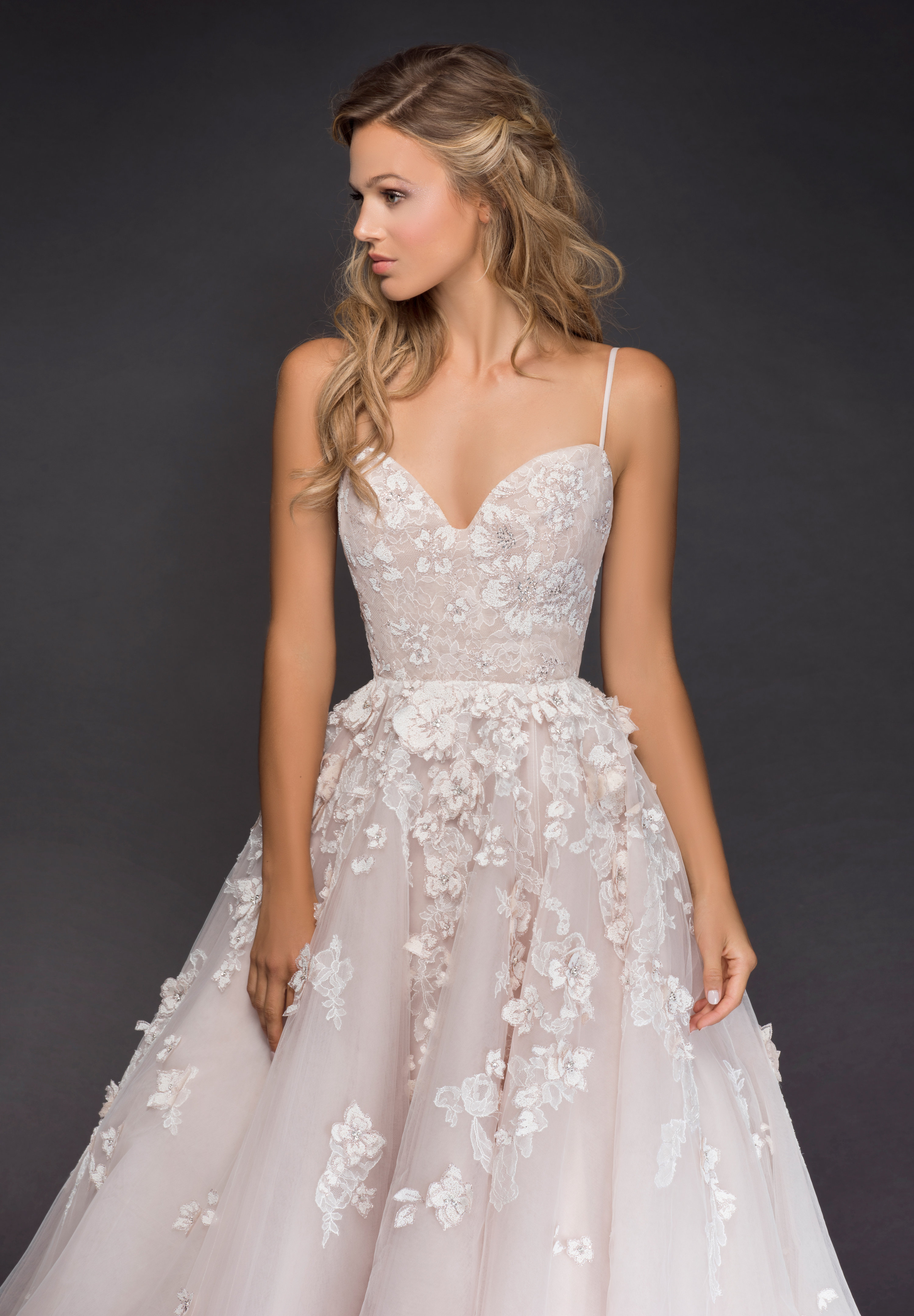 Bridal Gowns and Wedding Dresses by JLM Couture - Style 6814 Arden