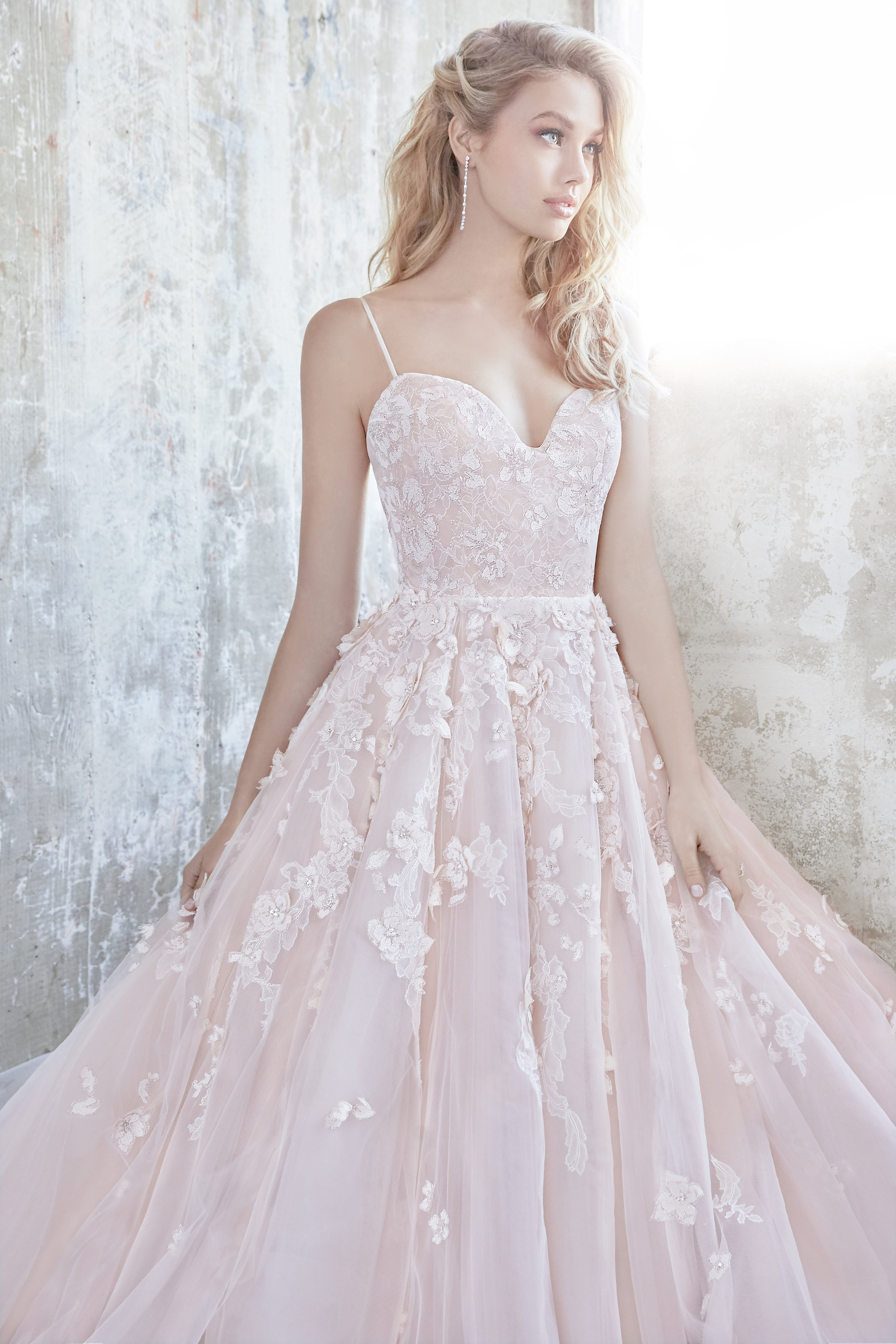 pink flower wedding dress bridal gowns and wedding dresses by jlm couture style 6581
