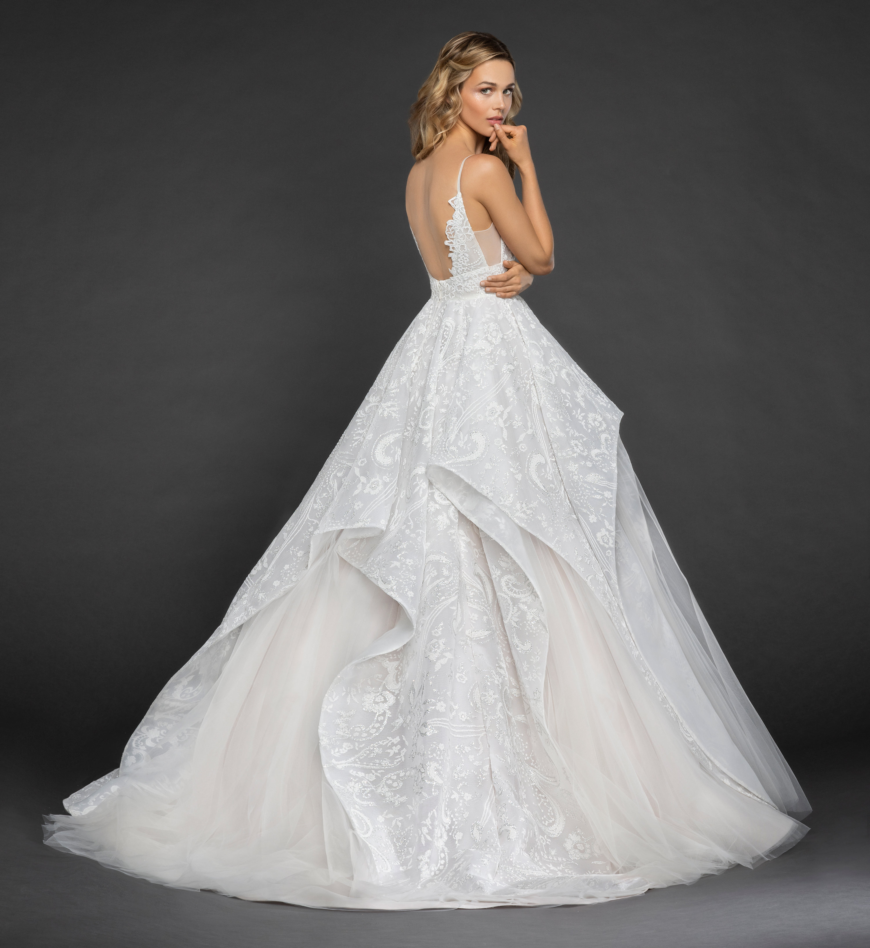 Bridal Gowns and Wedding Dresses by JLM Couture - Style 6850 Markle