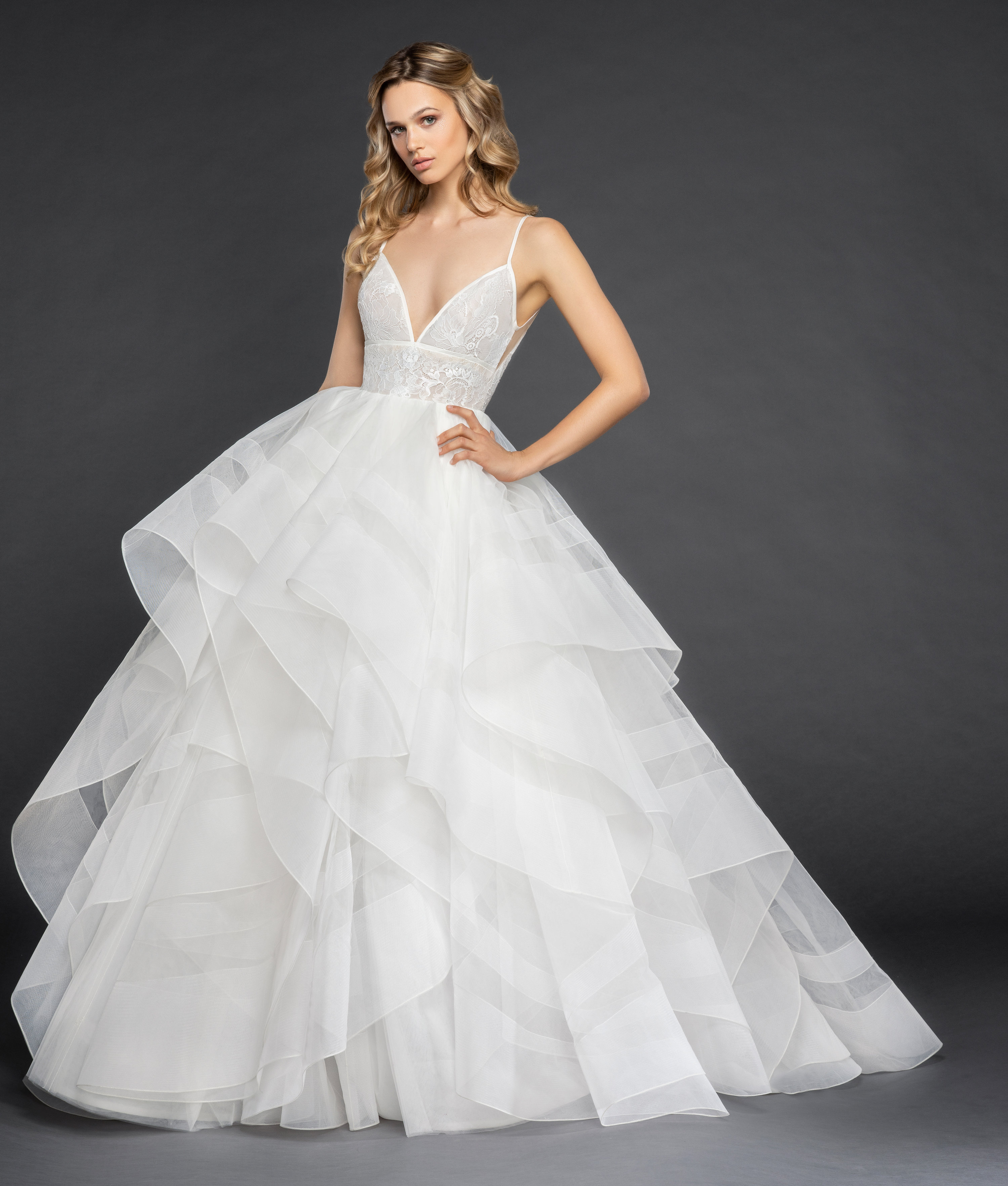 Bridal Gowns and Wedding Dresses by JLM Couture - Style 6859 Aldridge