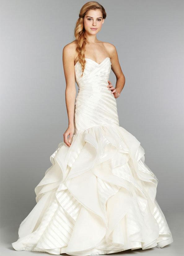Pinstripe Bridesmaid Dress
