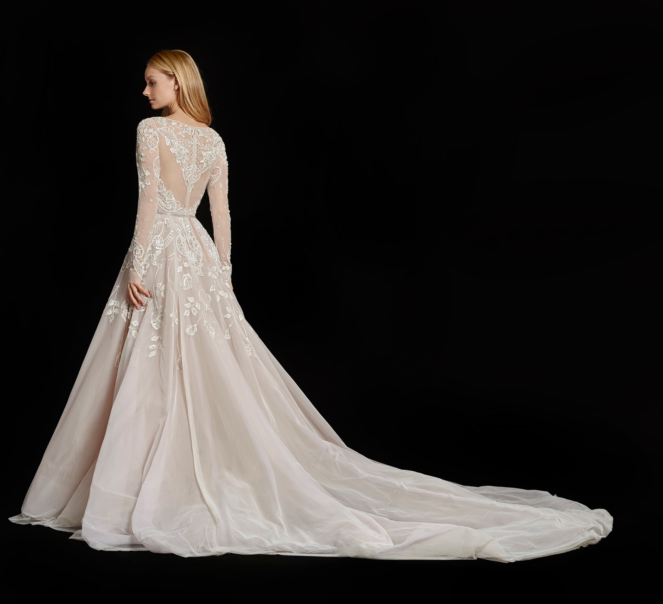 Bridal Gowns And Wedding Dresses By JLM Couture Style 6600 - Used Hayley Paige Wedding Dress