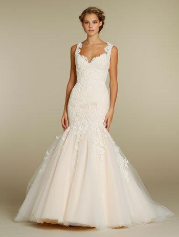 Jim hjelm alencon lace wedding dress