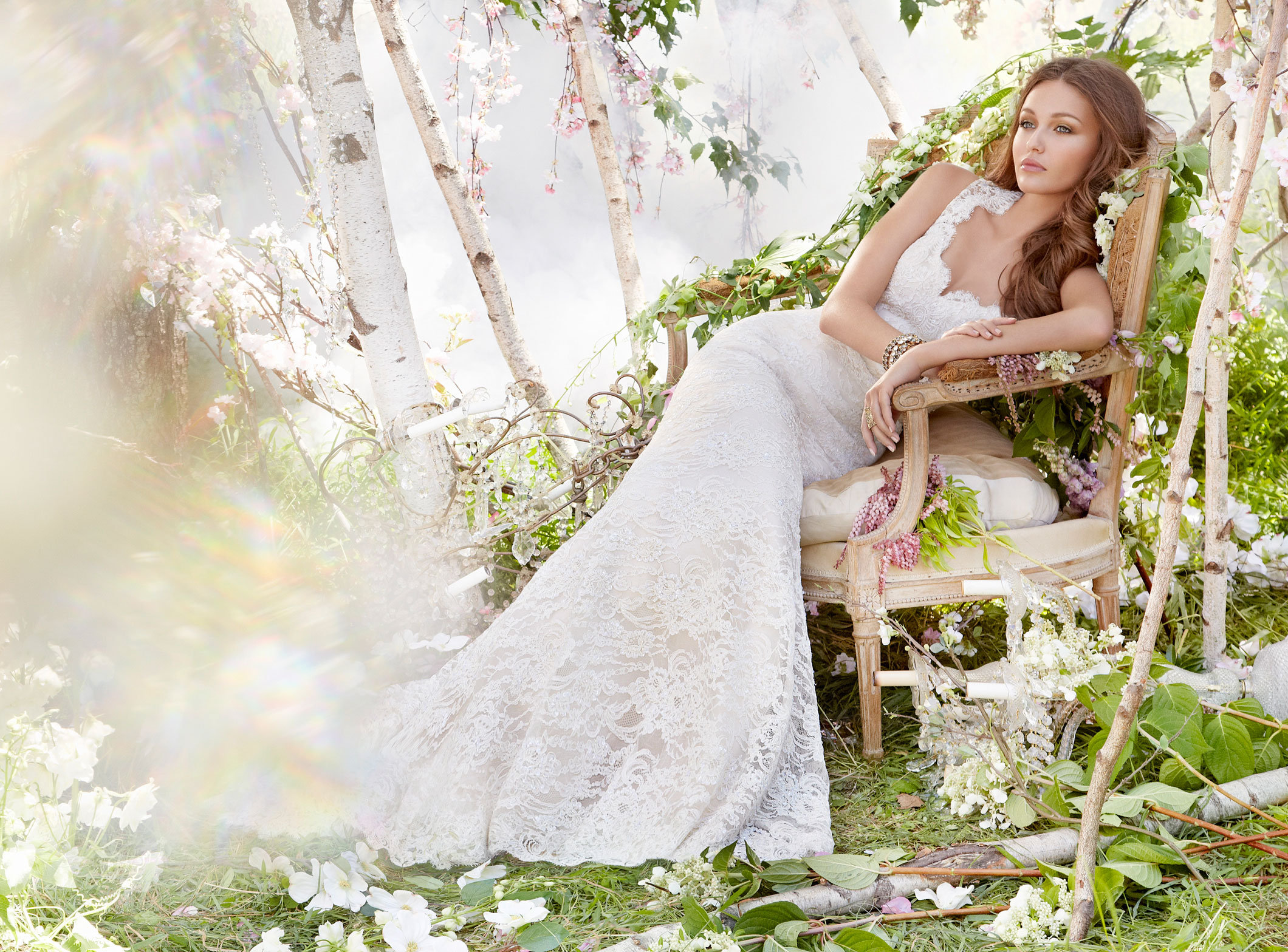 A Line Wedding Dress: Bridal Gowns And Wedding Dresses By JLM Couture