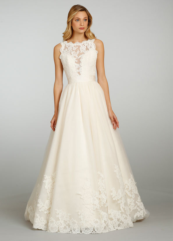 Style 8315 Alternate View To Save Jim Hjelm By Hayley Paige Bridal Gown