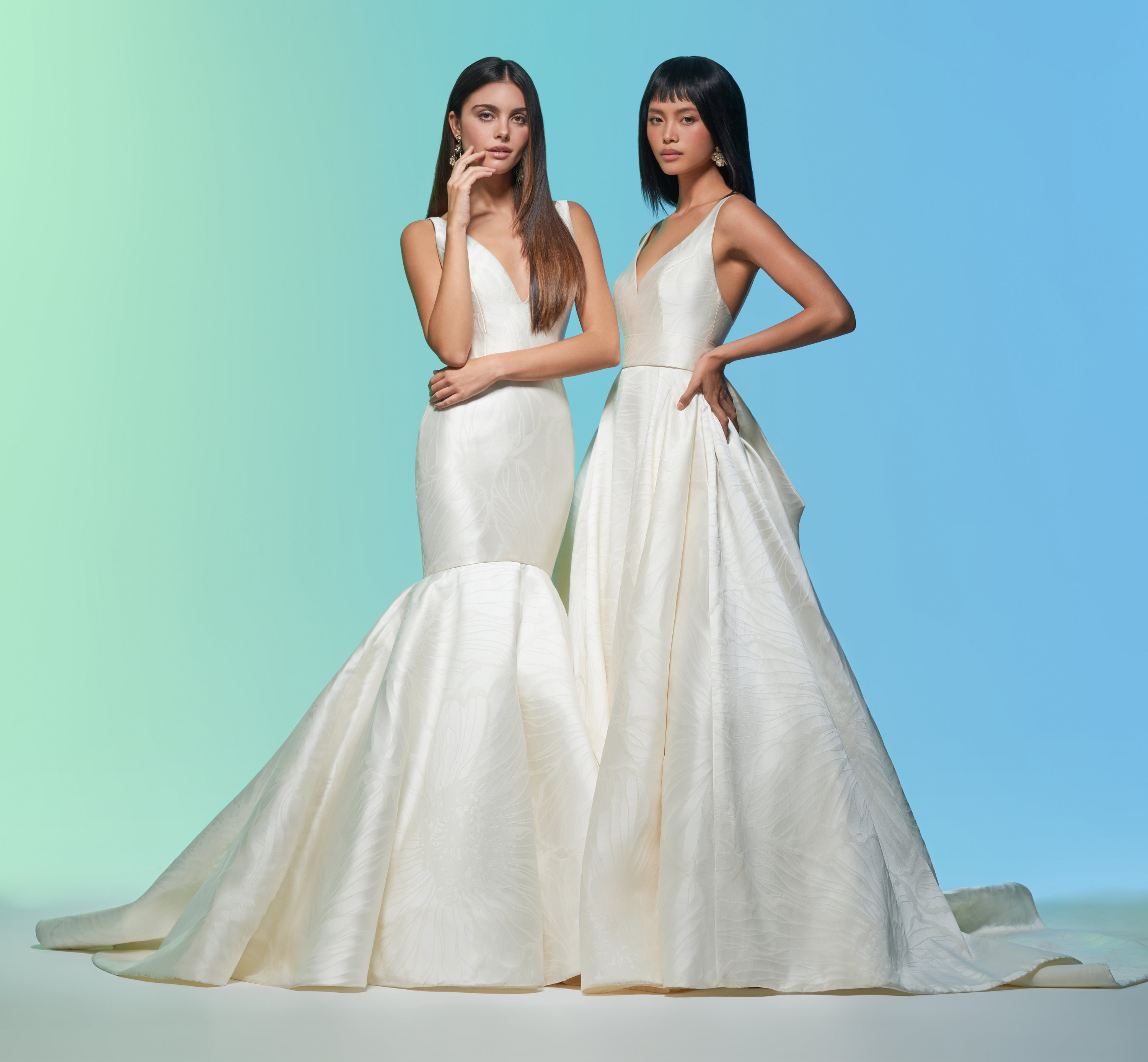 Tara Keely Ivory Silk Taffeta Off Shoulder Gown: Bridal Gowns And Wedding Dresses By JLM Couture
