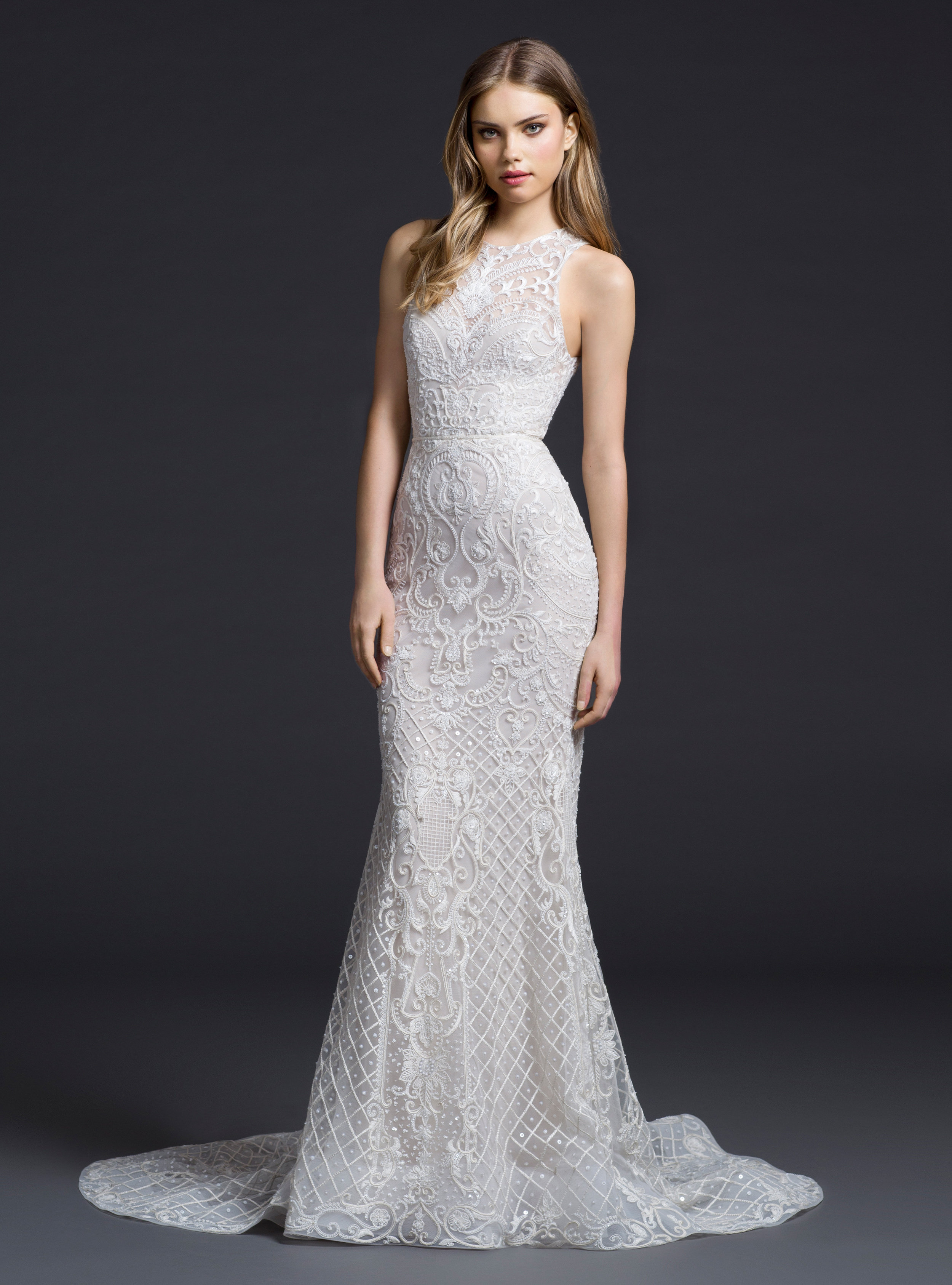 Bridal gowns and wedding dresses by jlm couture style 3651 for Where to buy lazaro wedding dresses