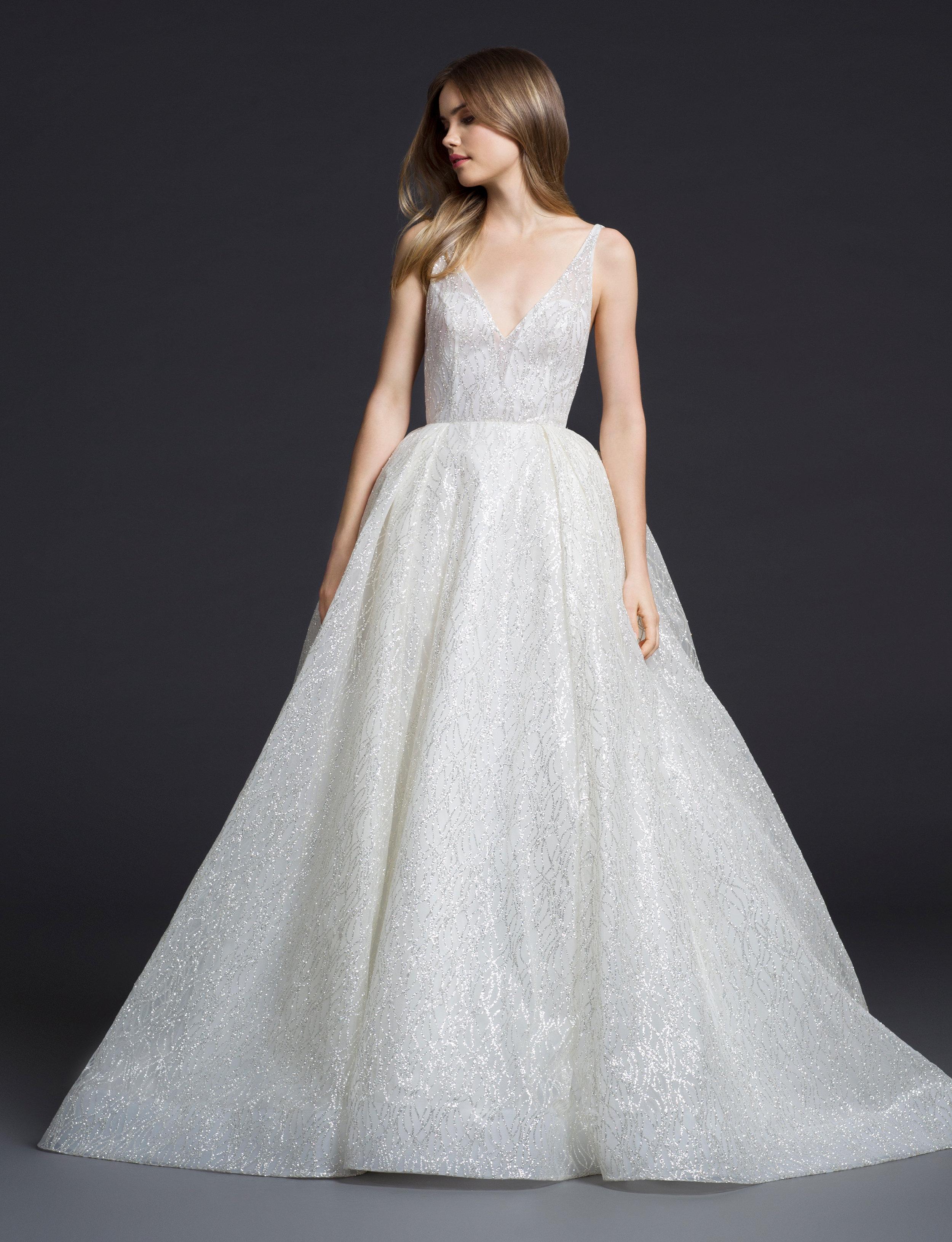 Lazaro wedding dress 2018 images