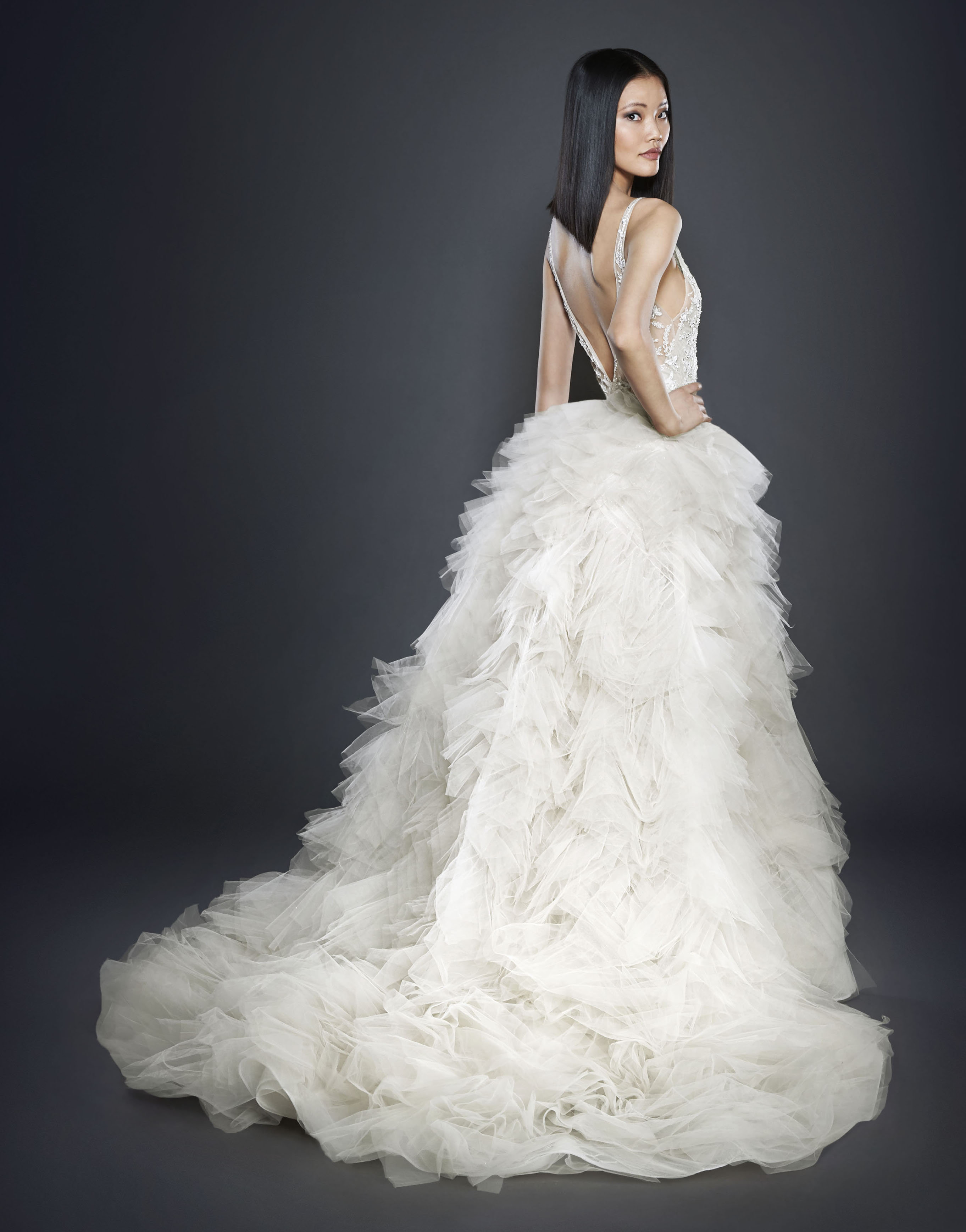 Bridal gowns and wedding dresses by jlm couture style 3700 lazaro style 3700 bridal gown junglespirit Gallery