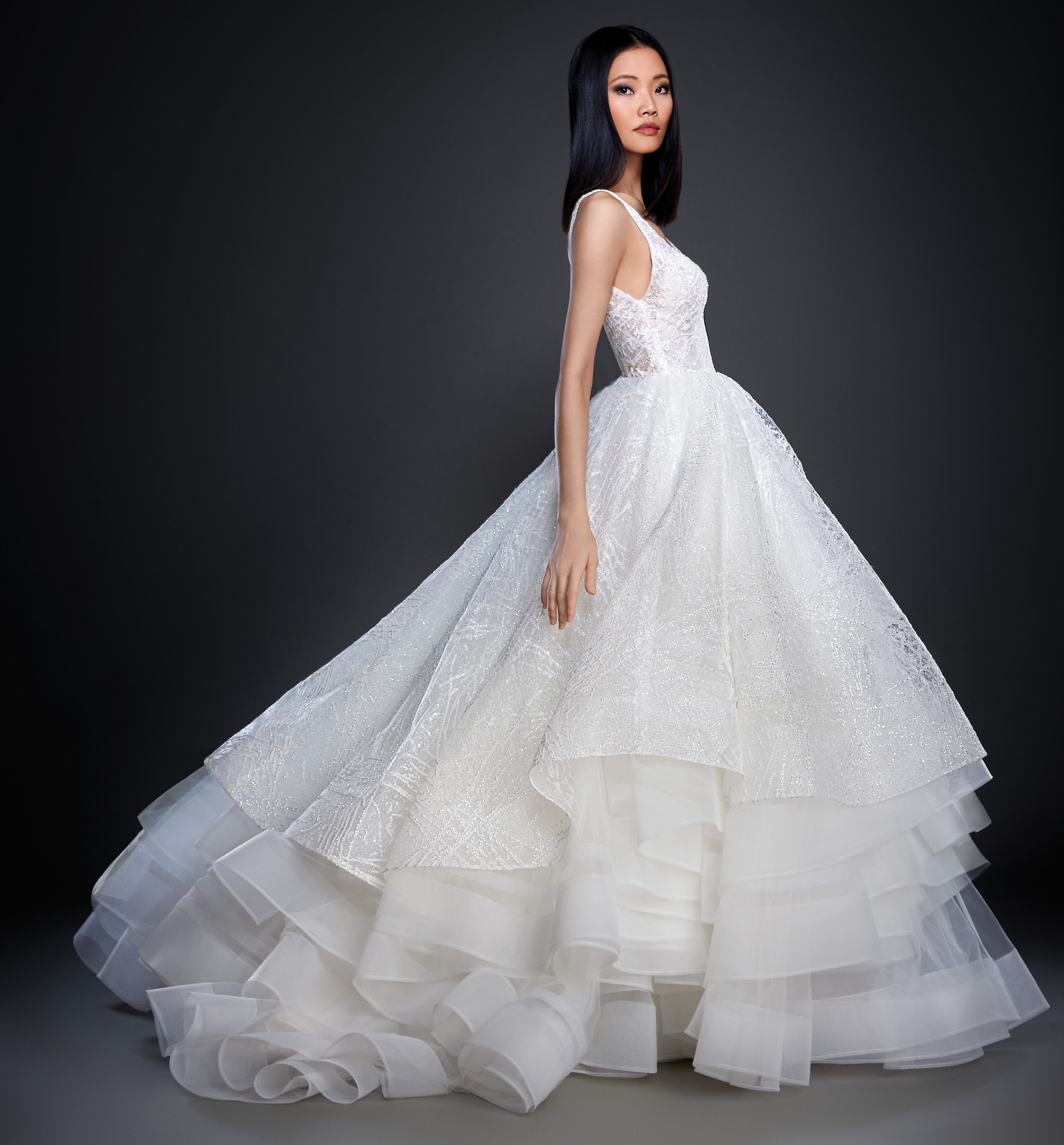 Lazaro Style 3703 Bridal Gown