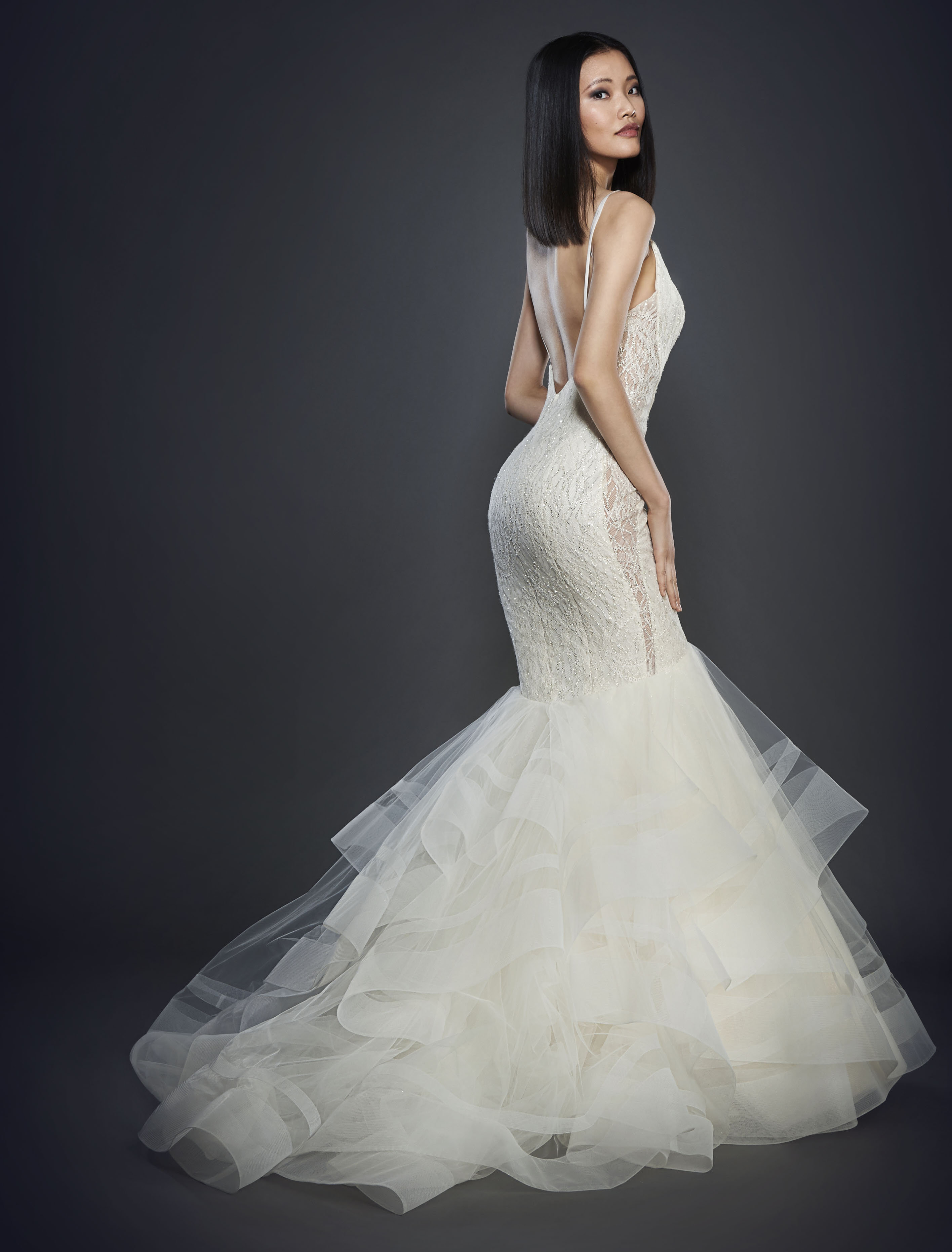 Lazaro Style 3704 Bridal Gown