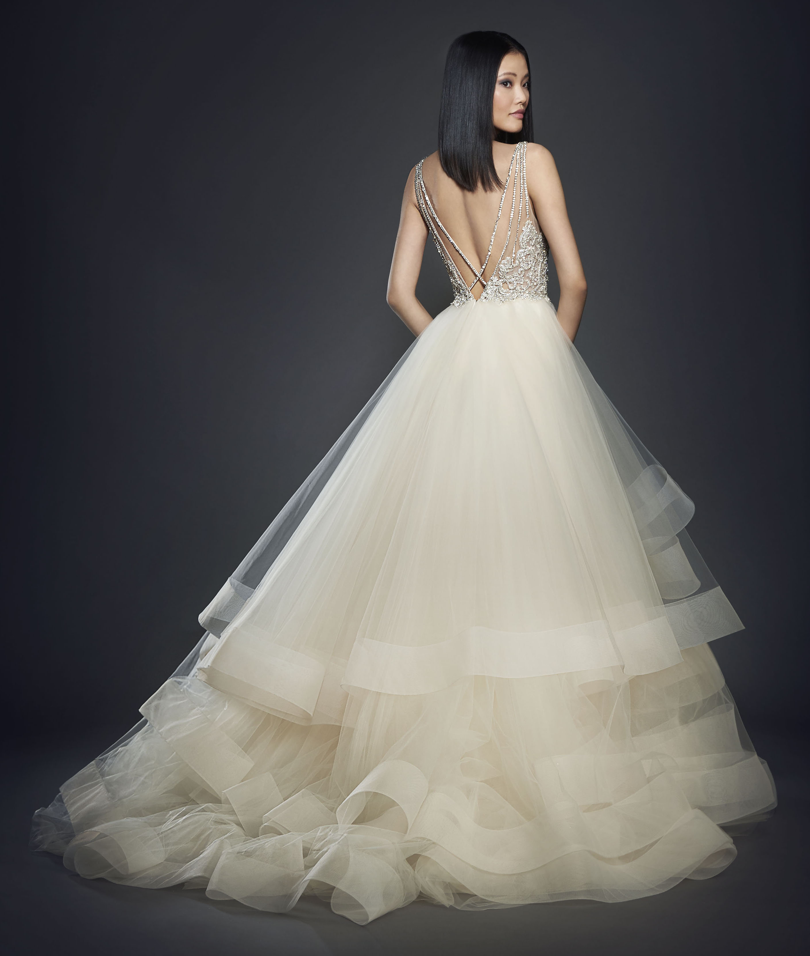 Bridal Gowns and Wedding Dresses by JLM Couture - Style 3708