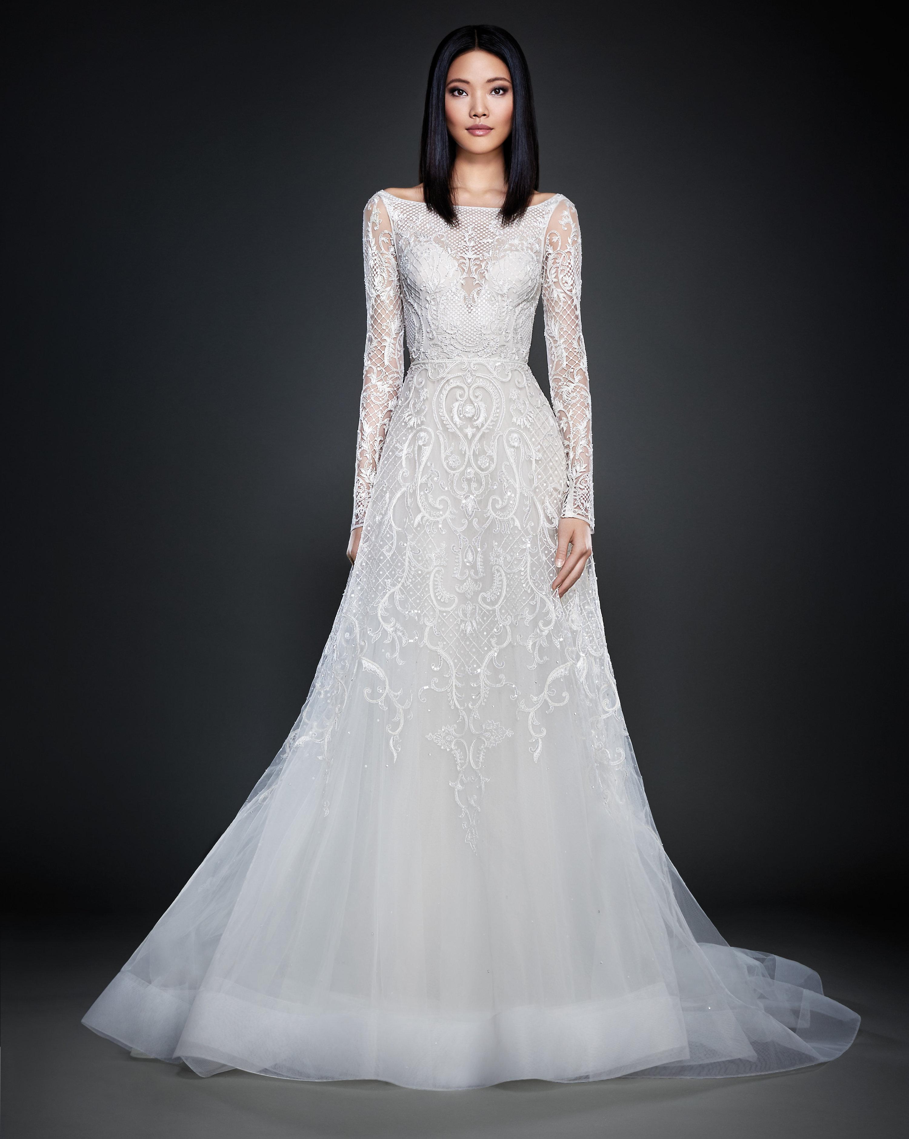 Lazaro wedding dresses price