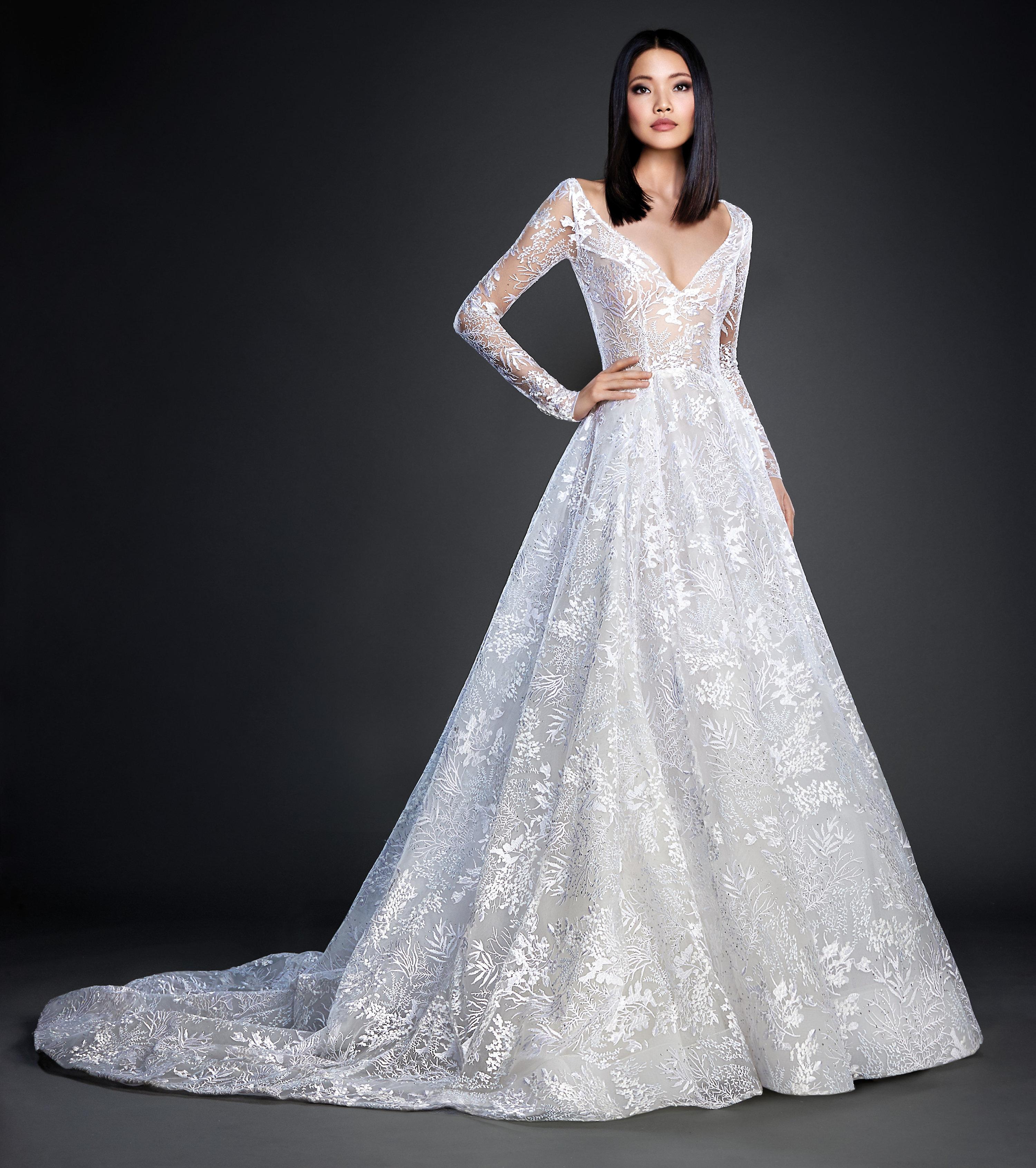 Lazaro Bridal Dresses Strapless
