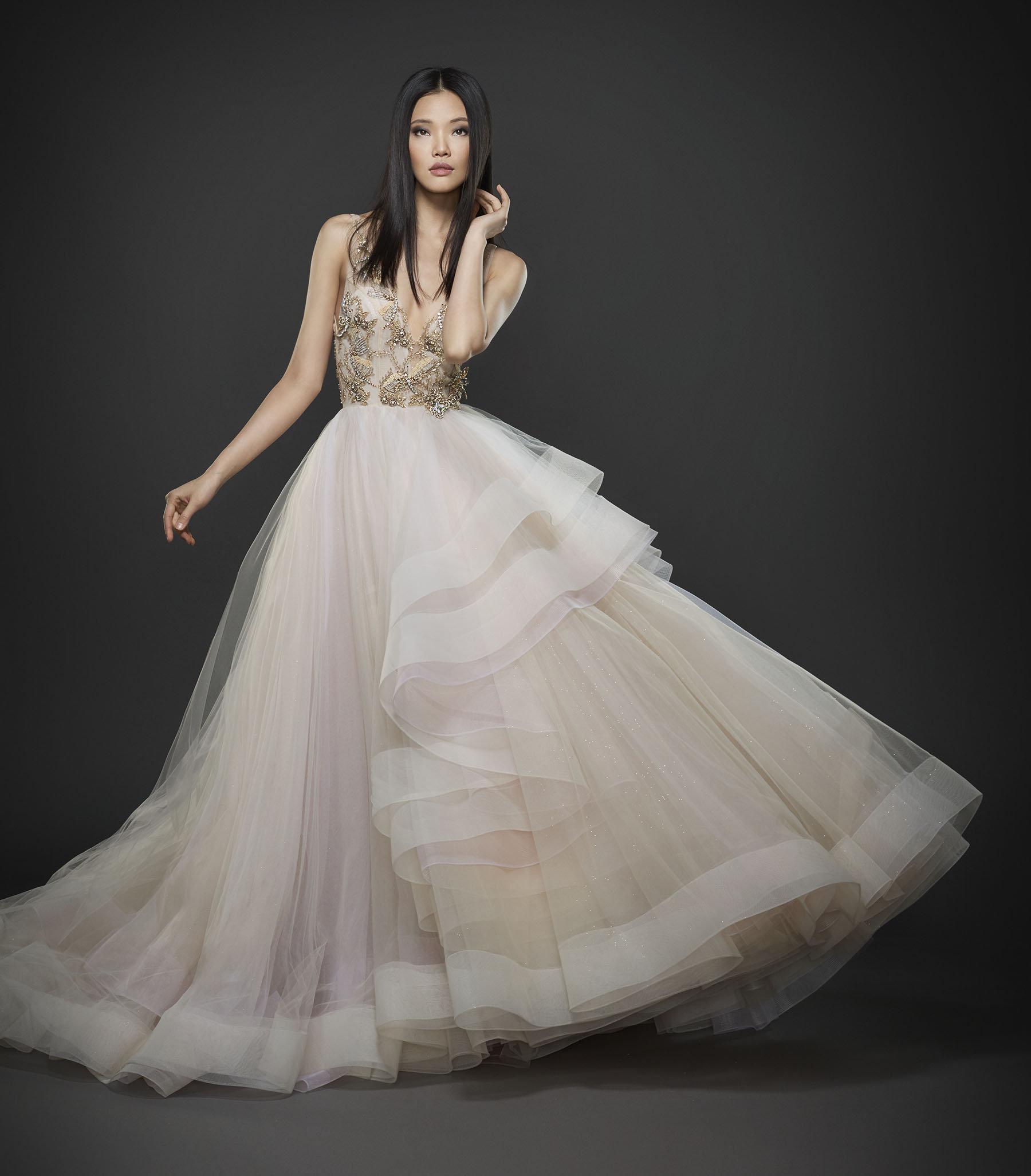 Cheap lazaro wedding dresses