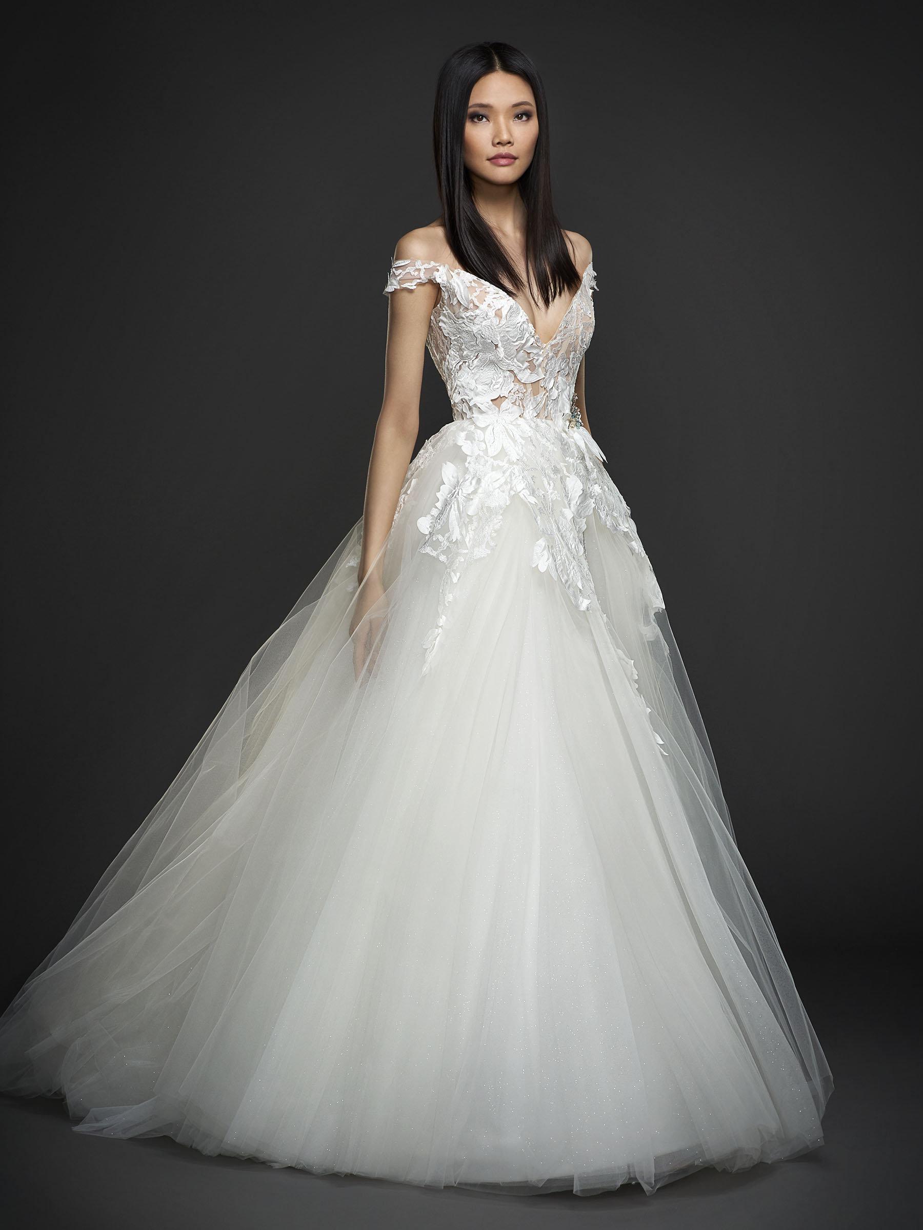 Lazaro Wedding Gowns 2018