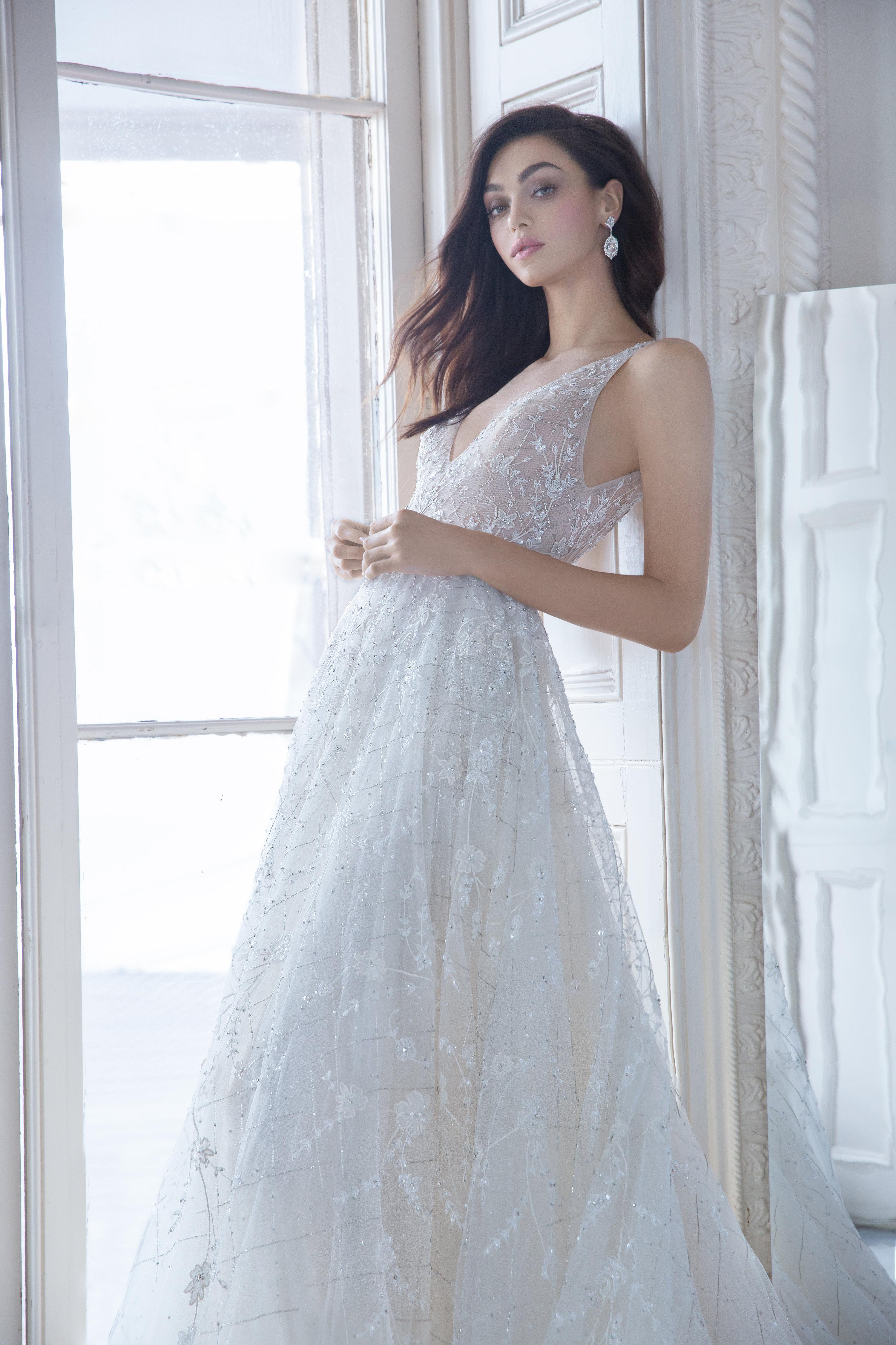 Fancy Lazaro Bridal Gowns Vignette - Wedding Dress Ideas ...