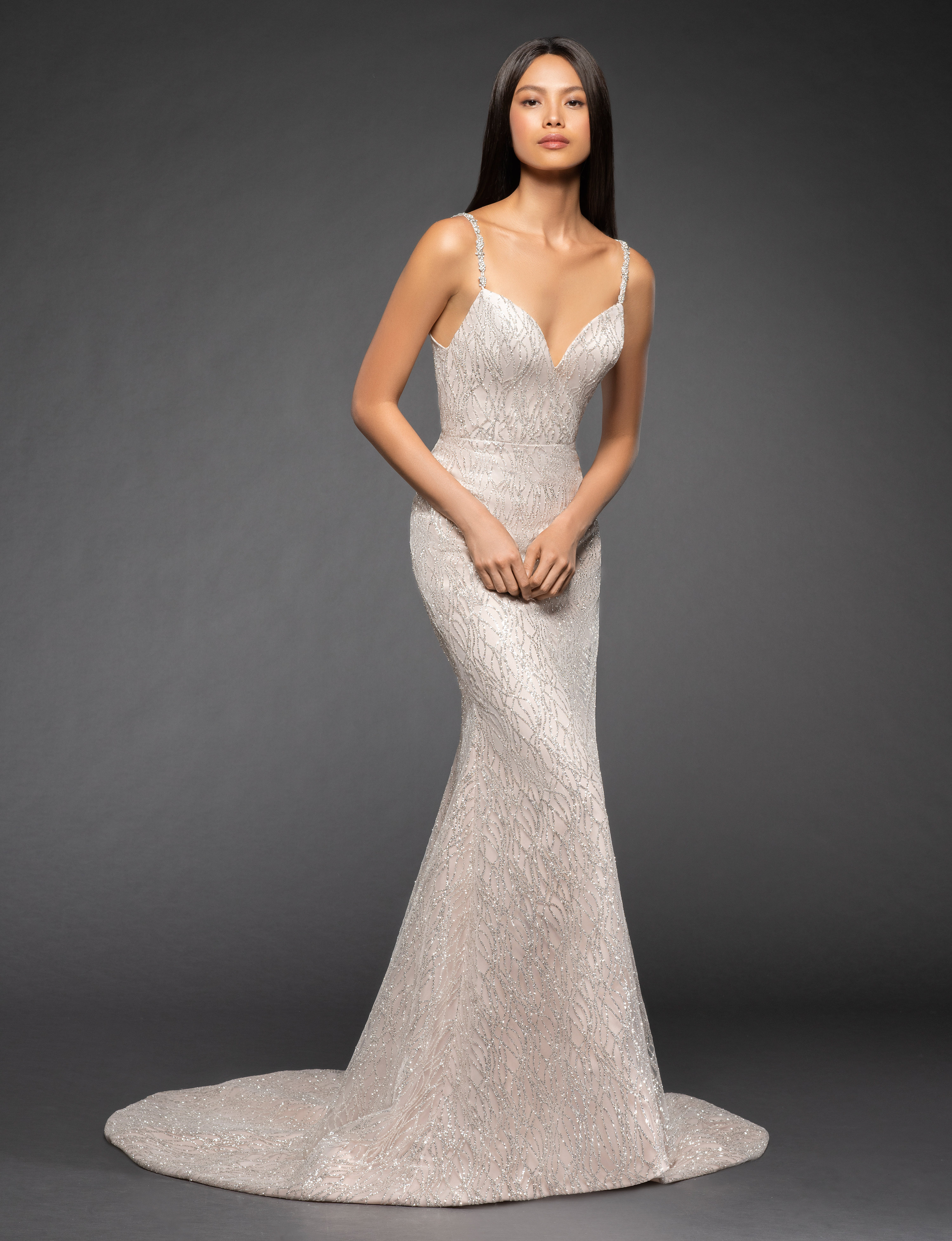 Bridal Gowns and Wedding Dresses by JLM Couture - Style 3857 Elisa