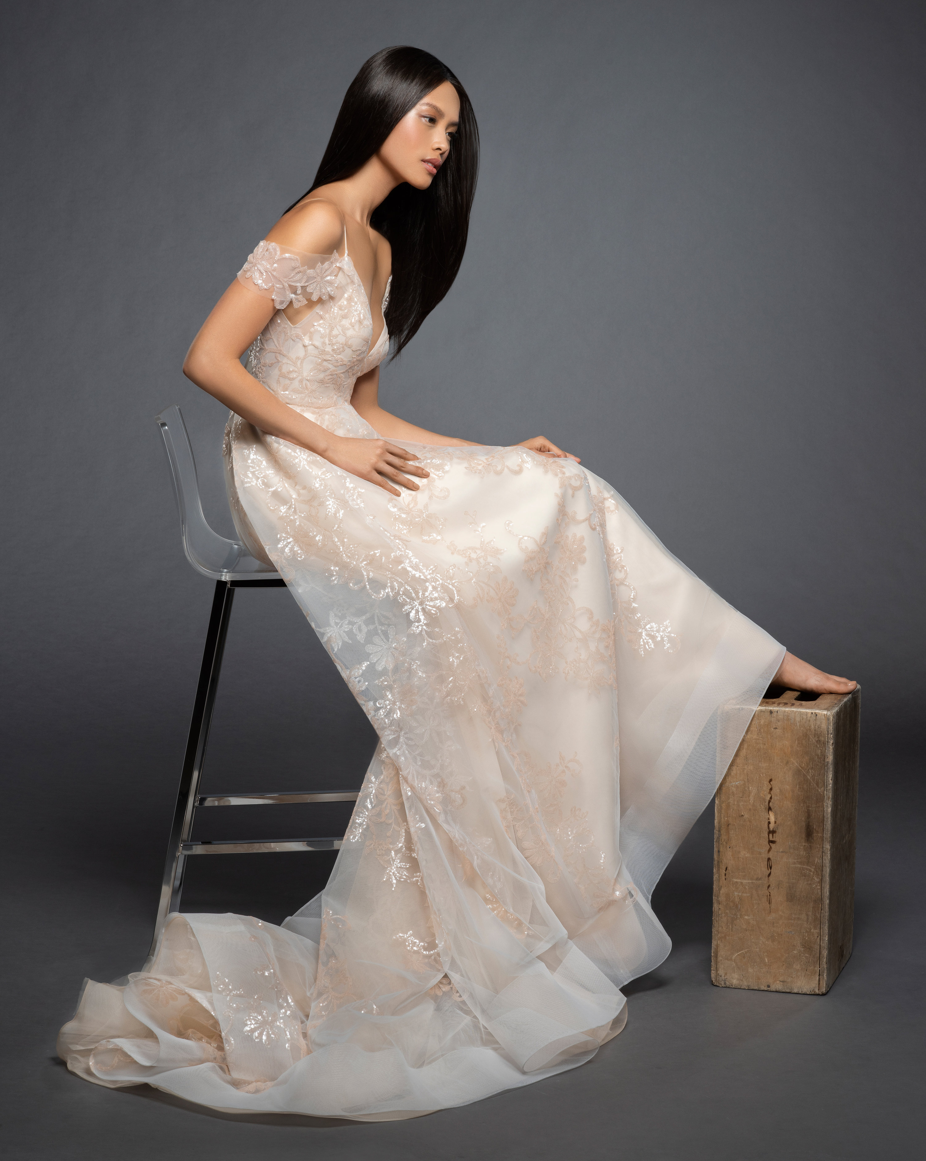 932448629fee Bridal Gowns and Wedding Dresses by JLM Couture - Style 3863 Natalia