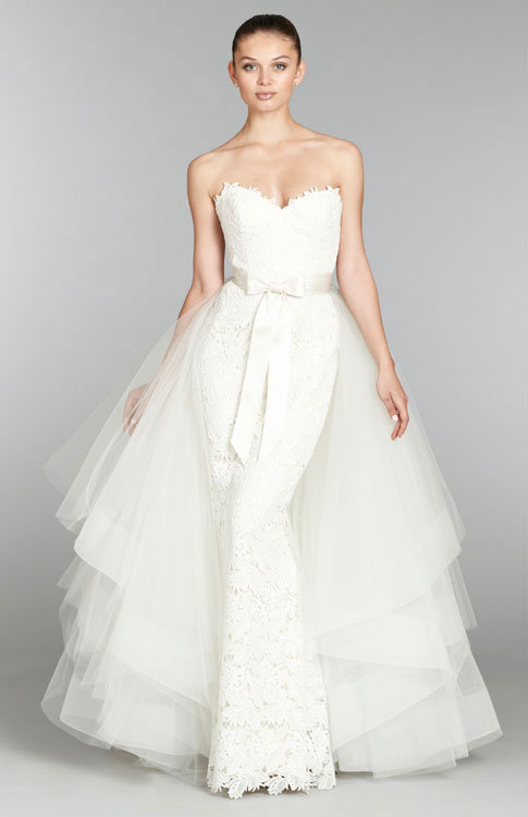 Lazaro Creates Perfection For A Brides Evening Under The Stars An
