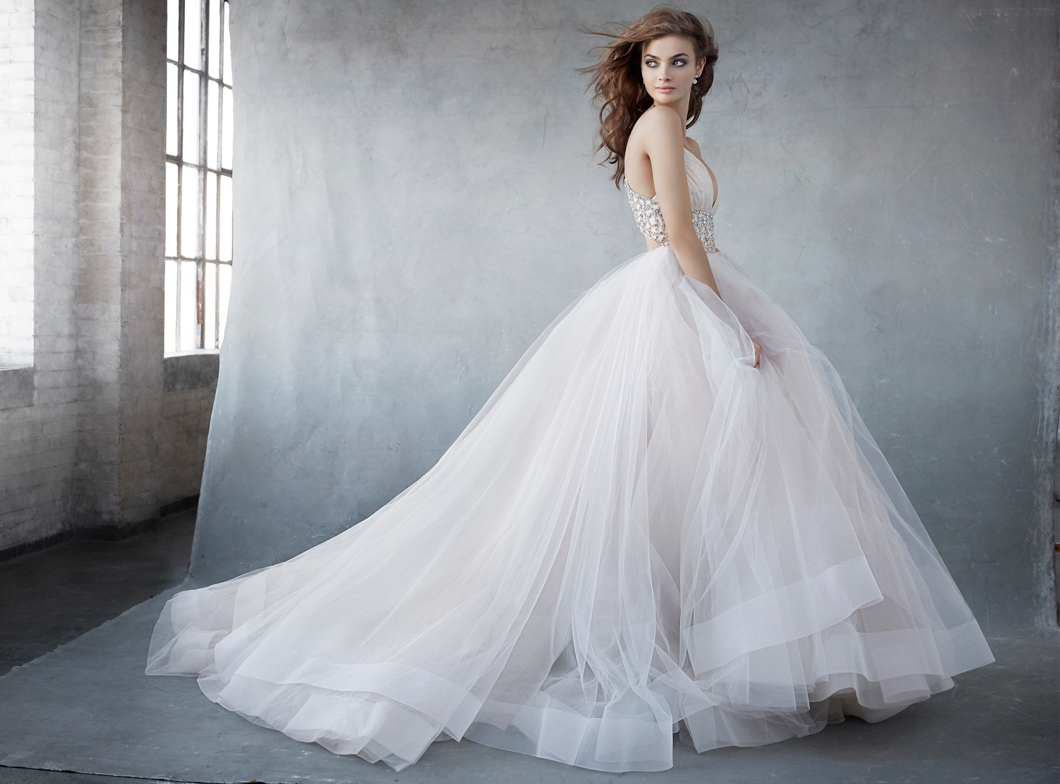Bridal Gowns and Wedding Dresses by JLM Couture Style 3600