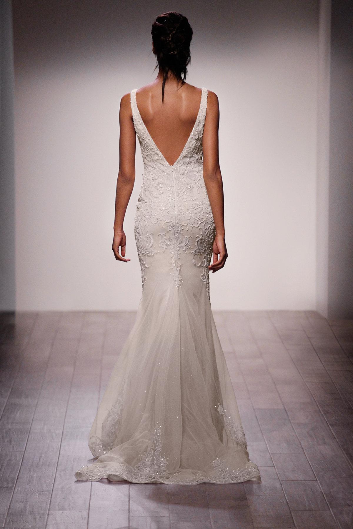Style 3605 Lazaro Bridal Gown
