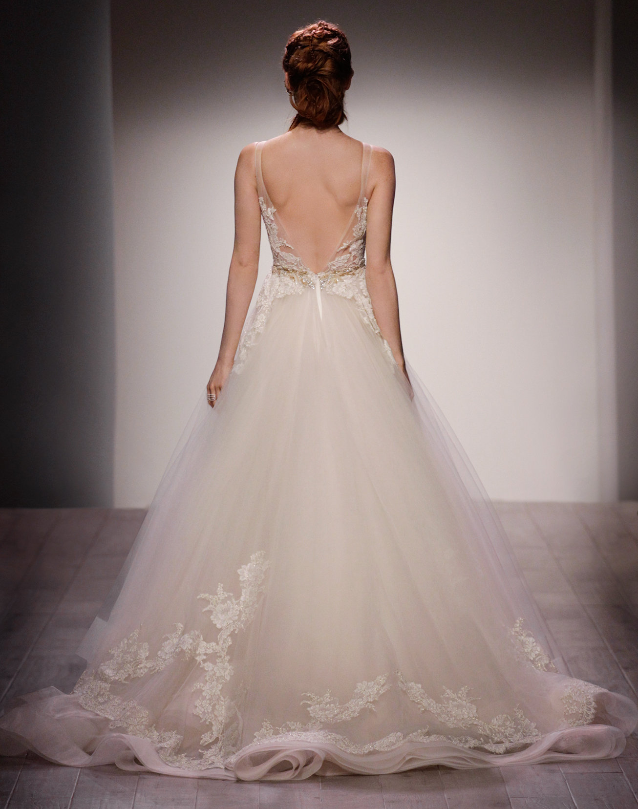 Bridal gowns and wedding dresses by jlm couture style 3607 style 3607 back view junglespirit Image collections