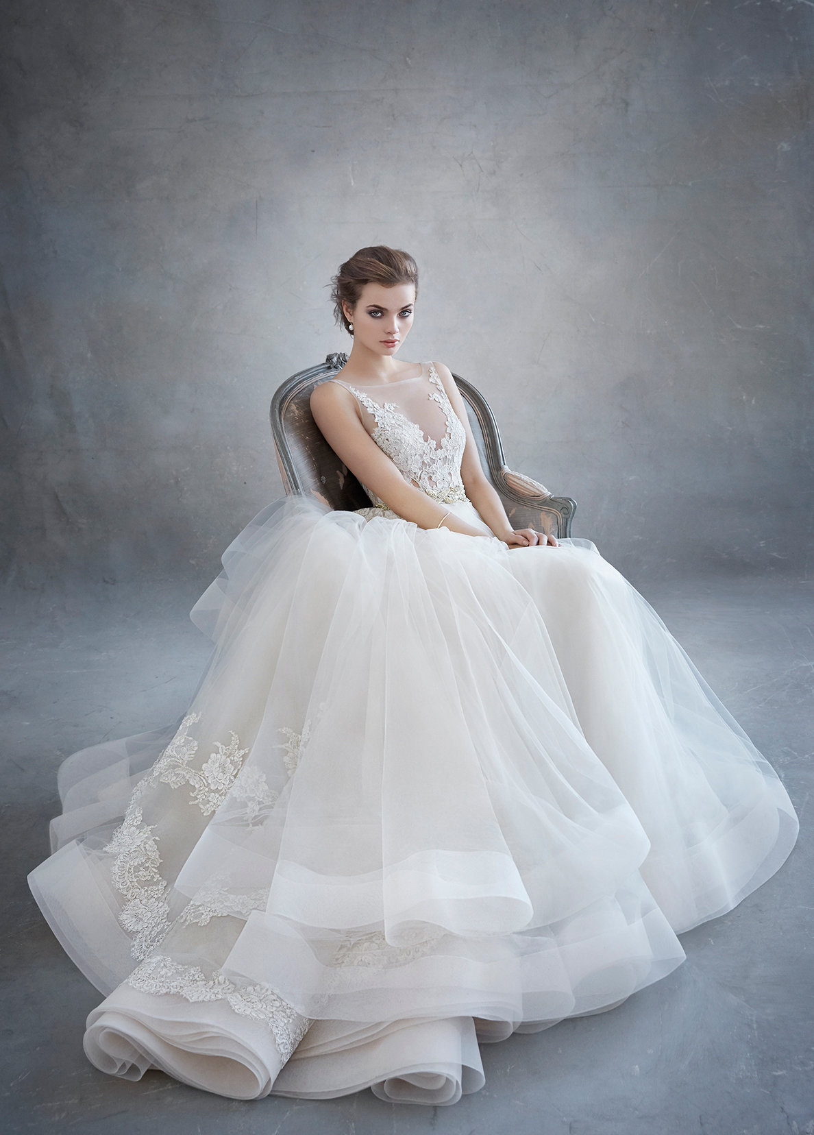 Bridal Gowns and Wedding Dresses by JLM Couture - Style 3607