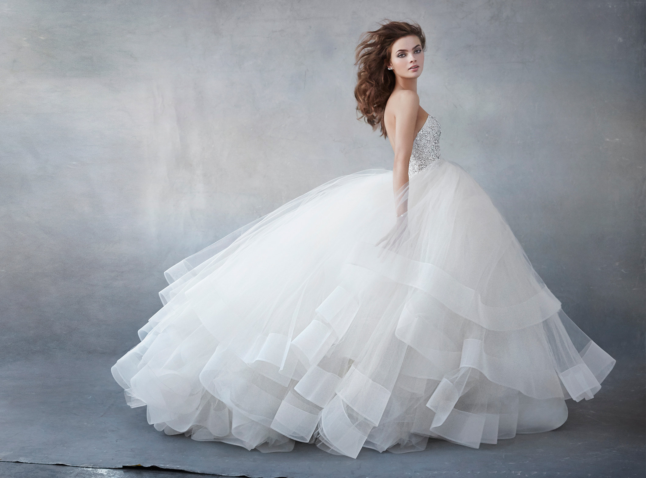 Lazaro Style 3608 Bridal Gown: Ball Gown Wedding Dresses Spring At Websimilar.org