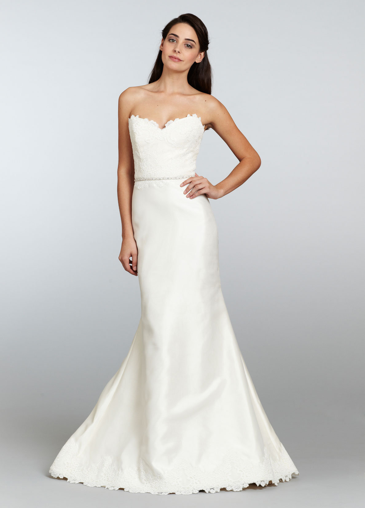Bridal gowns and wedding dresses by jlm couture style 2308 for Organza trumpet wedding dress