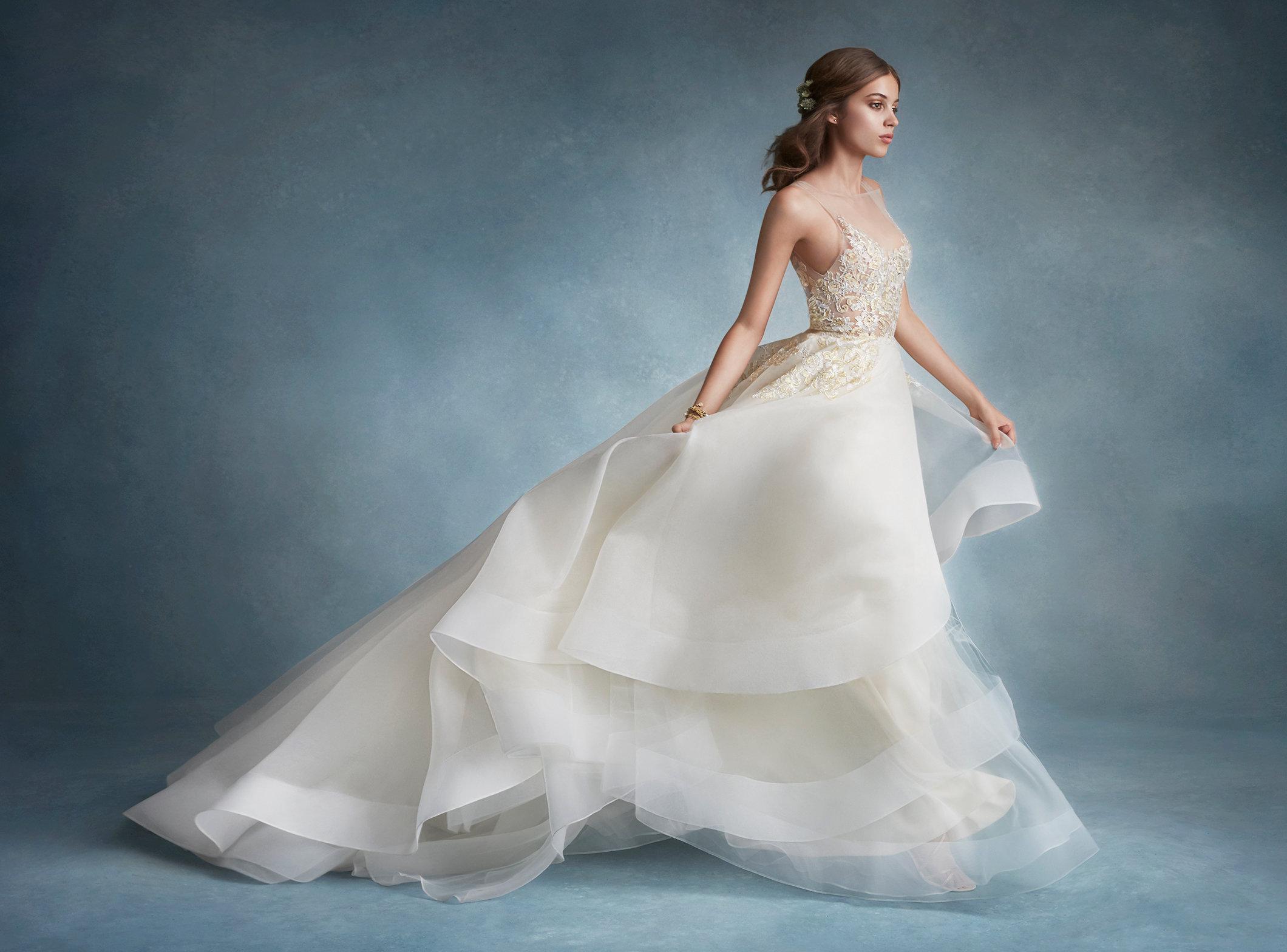 Tiered Wedding Dress Tara Keely